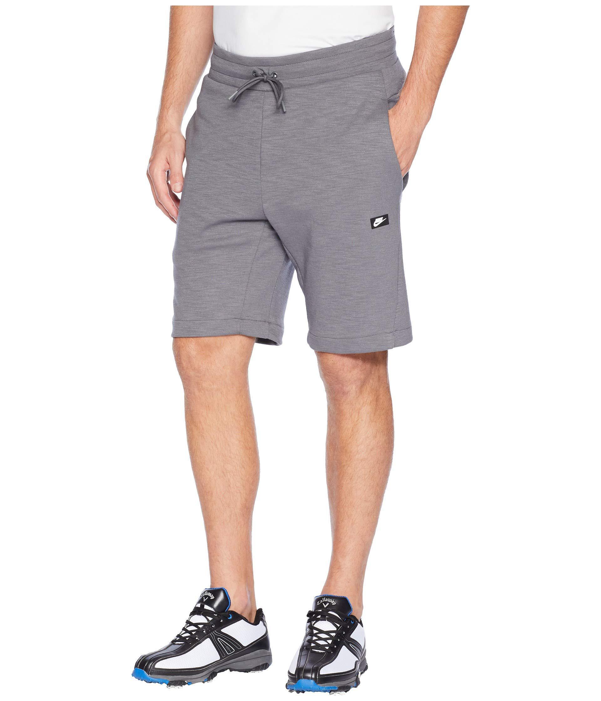 the best attitude ac421 91953 Lyst - Nike Nsw Optic Shorts (dark Grey heather) Men s Shorts in Gray for  Men