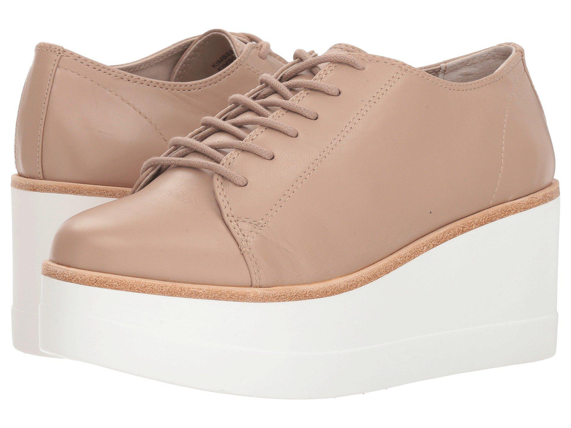 bb62abe78ec Lyst - Steve Madden Kimber (black Leather) Women s Shoes in Natural