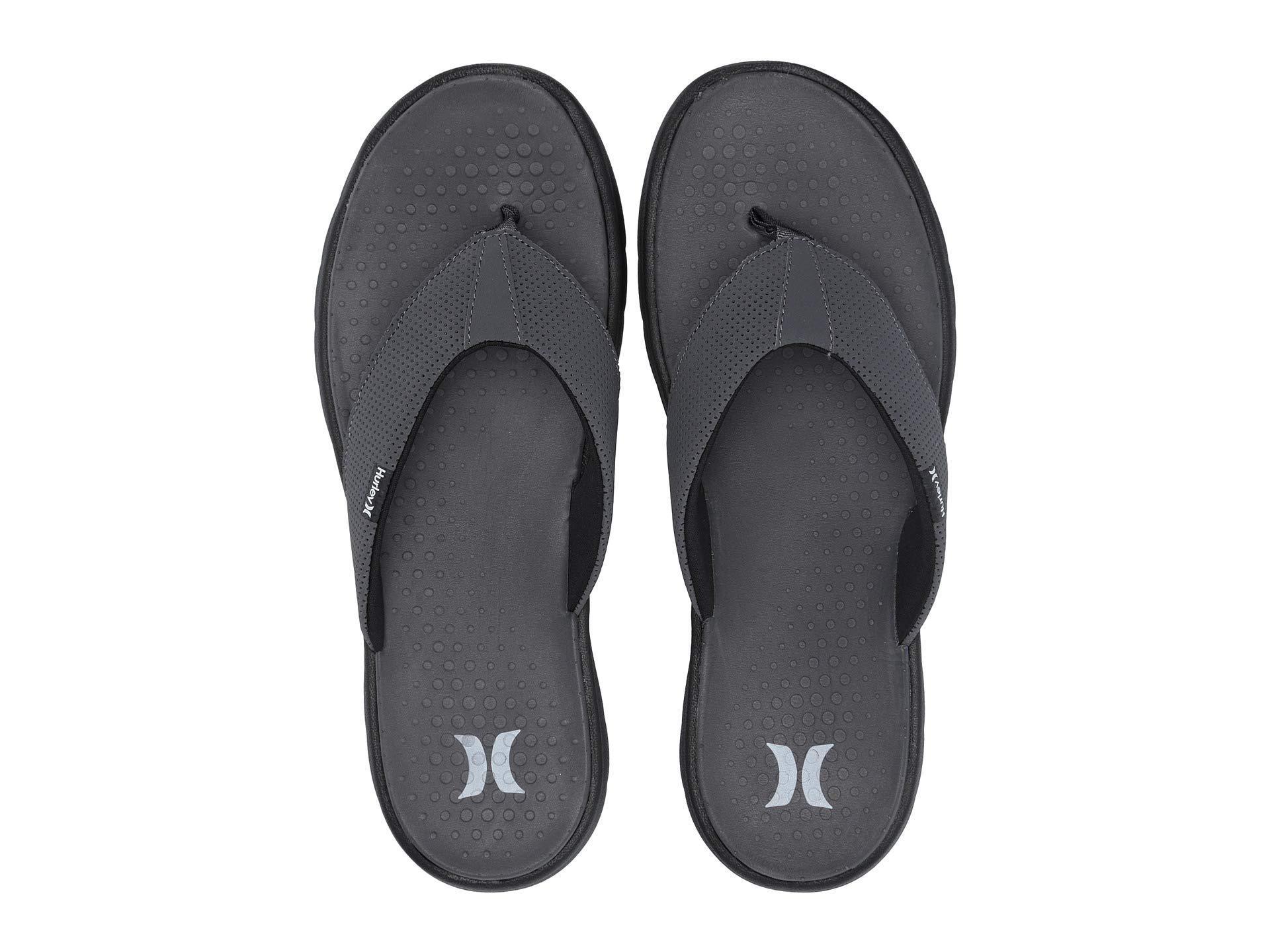 341cd6d0eda Lyst - Hurley Flex 2.0 Sandal (black) Men s Sandals in Gray for Men