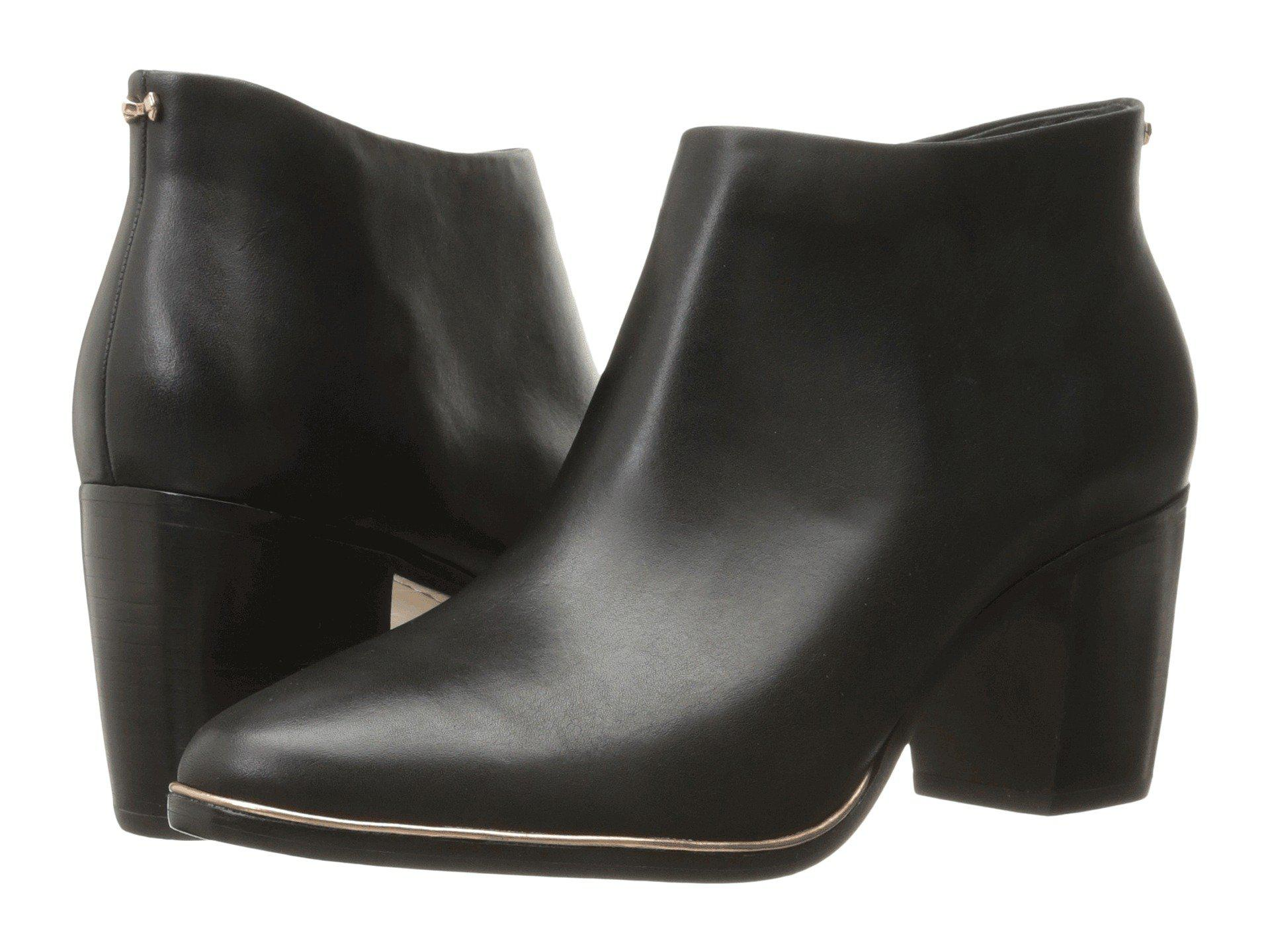 9f189ef3d09b8a Lyst - Ted Baker Hiharu 2 (dark Tan Leather) Women s Boots in Black ...