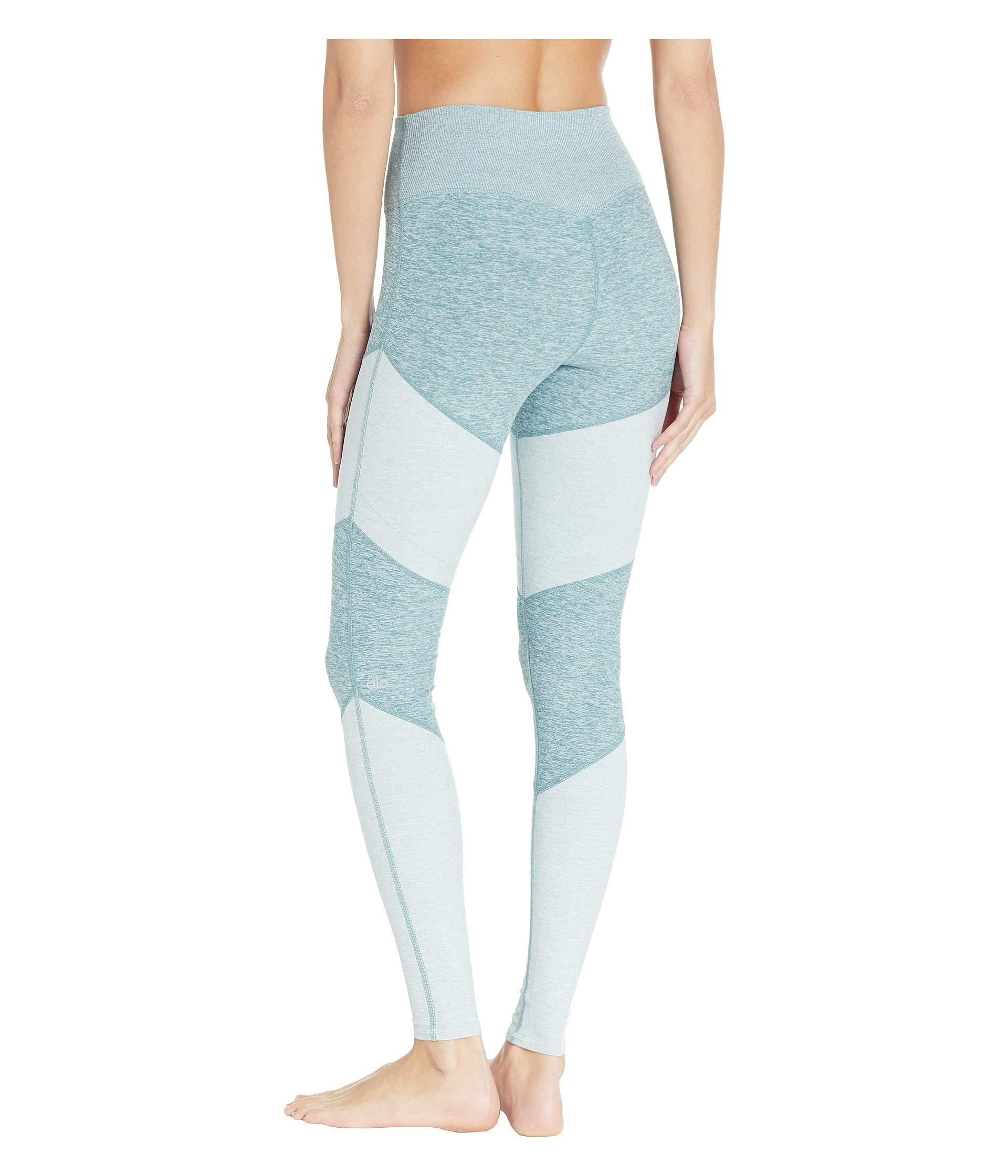 a9f716f24622b Alo Yoga High-waist Soft Sheila (gravel/dove/dark Heather) Women's ...
