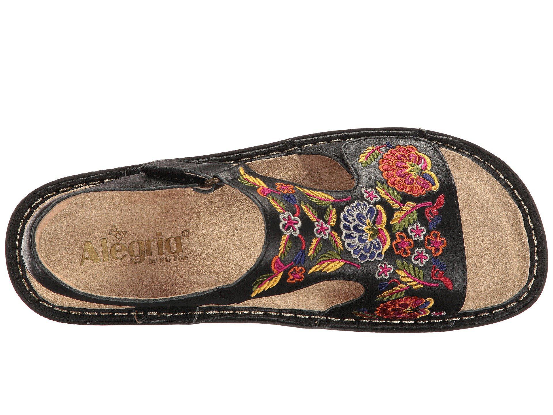 a3d2cfa36654 Alegria - Black Viki (cyclone Rainbow) Women s Lace-up Boots - Lyst. View  fullscreen