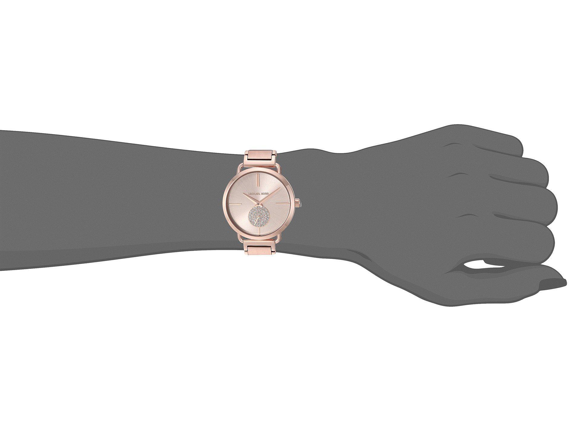 2a9694e33830 Michael Kors - Multicolor Mk3640 - Portia (rose Gold) Watches - Lyst. View  fullscreen