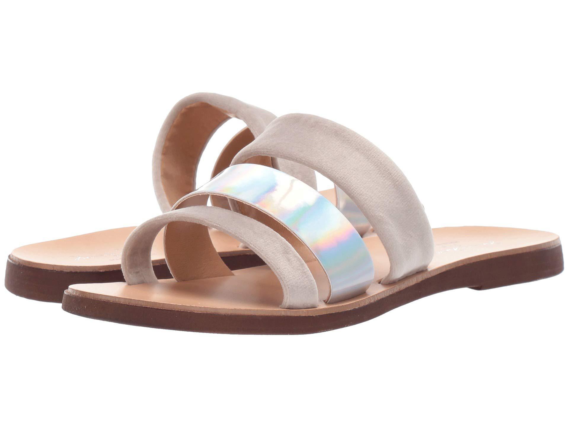 28a8f3e6f062 Lyst - Massimo Matteo 3 Band Sandal 19 (gris) Women s Sandals