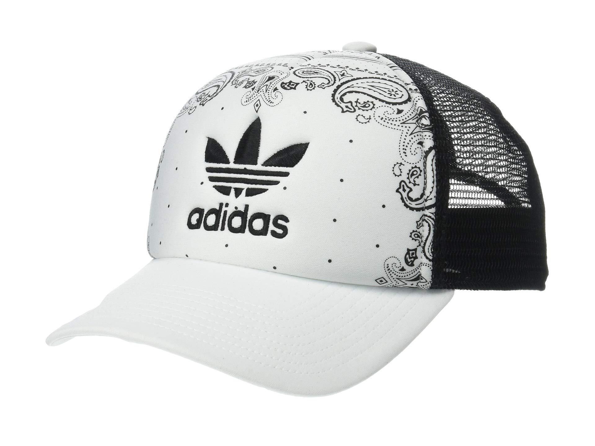 87db6d8ce28 adidas Originals. Women s Originals Foam Trucker (white black Bandana  Print) Caps