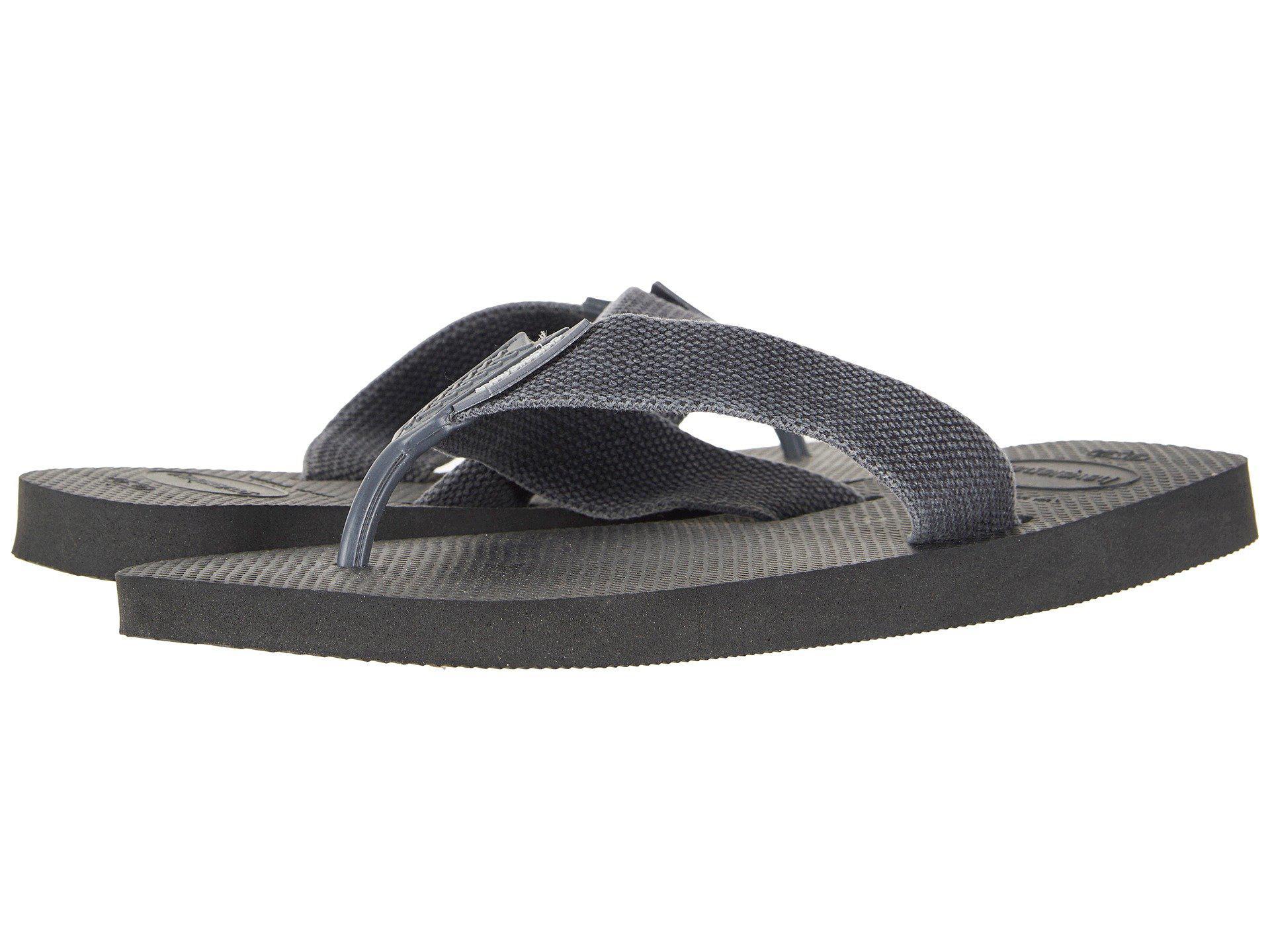 ed23ff1e3309a Lyst - Havaianas Urban Basic Flip Flops (black grey) Men s Sandals ...