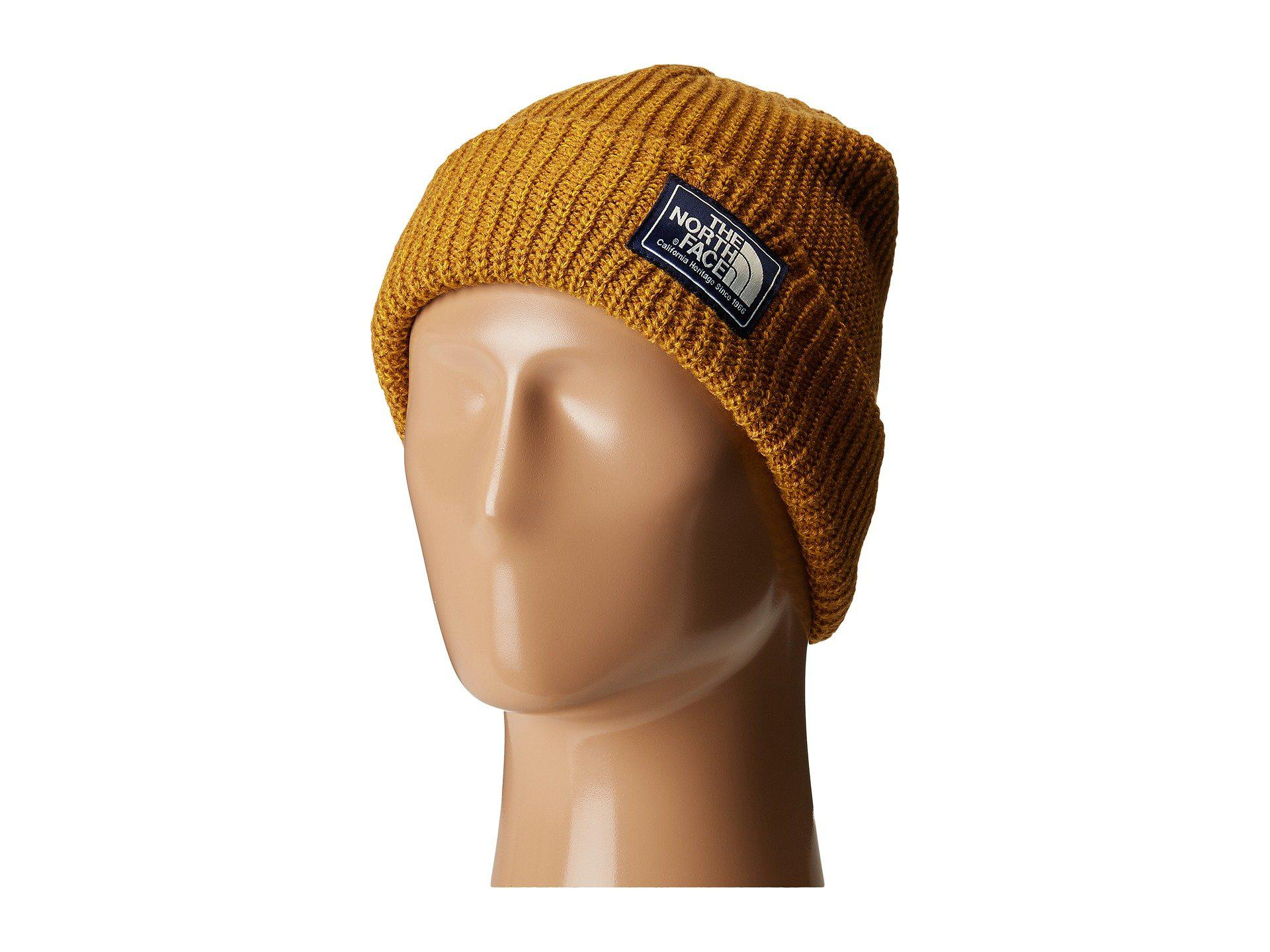 2ea99afe739613 The North Face Salty Dog Beanie (golden Brown/arrowwood Yellow Marl ...