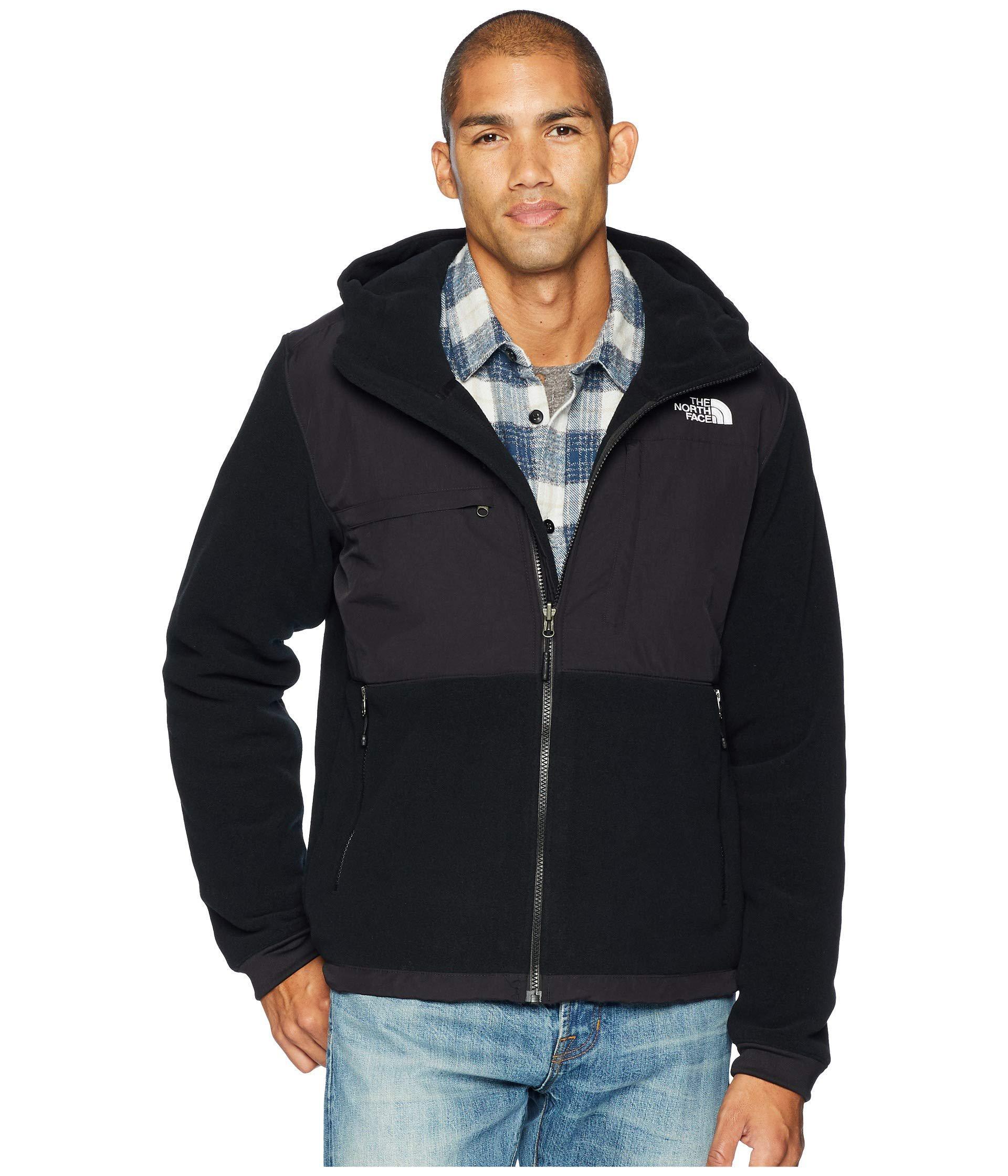 f2b6e7d97 denmark north face mens denali fleece jacket black brown 0b503 74822
