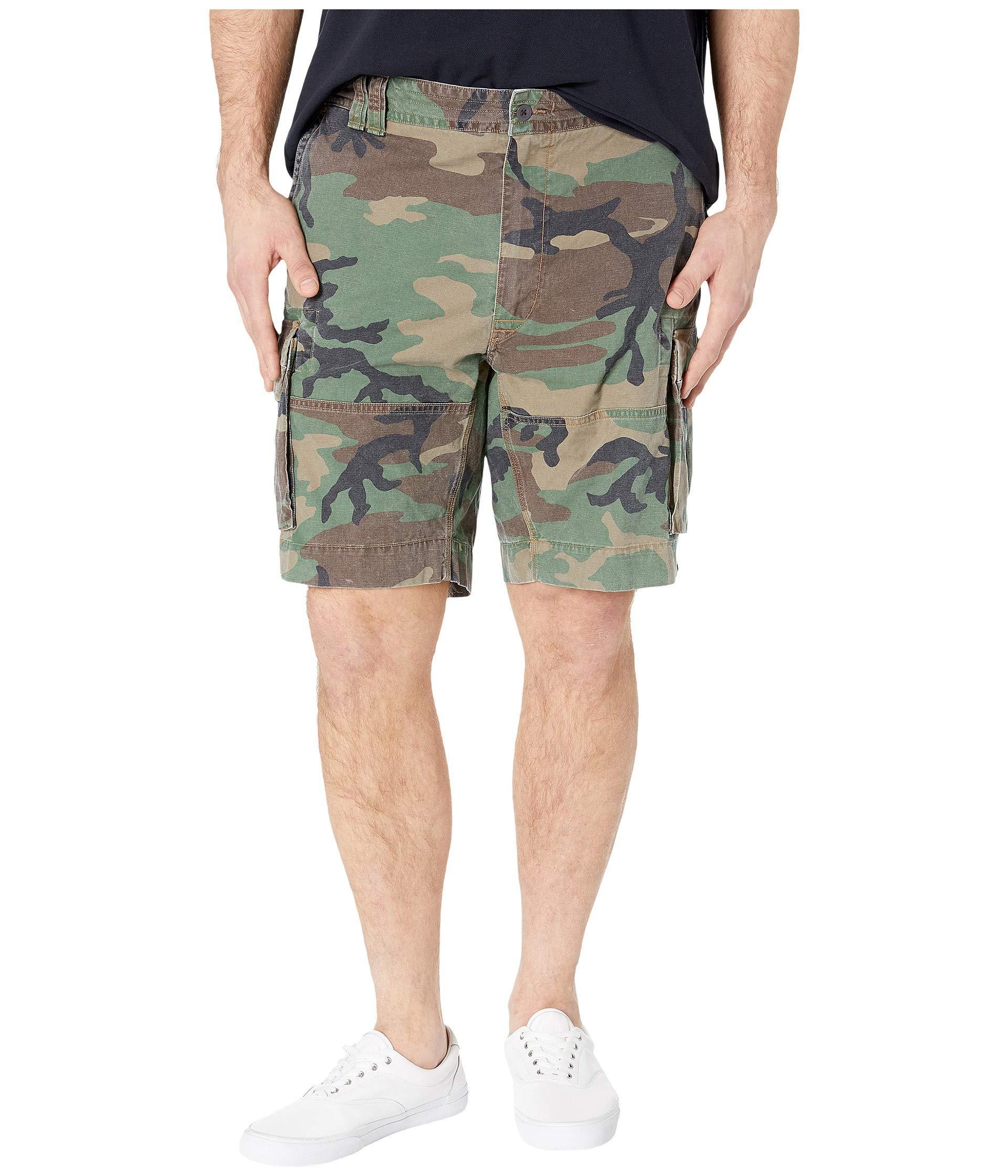 3feef17b9a Polo Ralph Lauren Big Tall Gellar Cargo Shorts (surplus Camo) Men's ...
