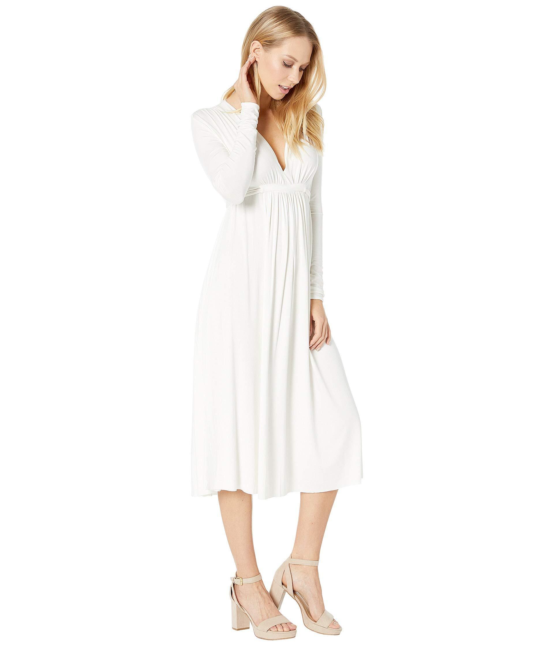 f309a52bb01 Rachel Pally - White Long Sleeve Midi Caftan (black) Women's Clothing -  Lyst. View fullscreen