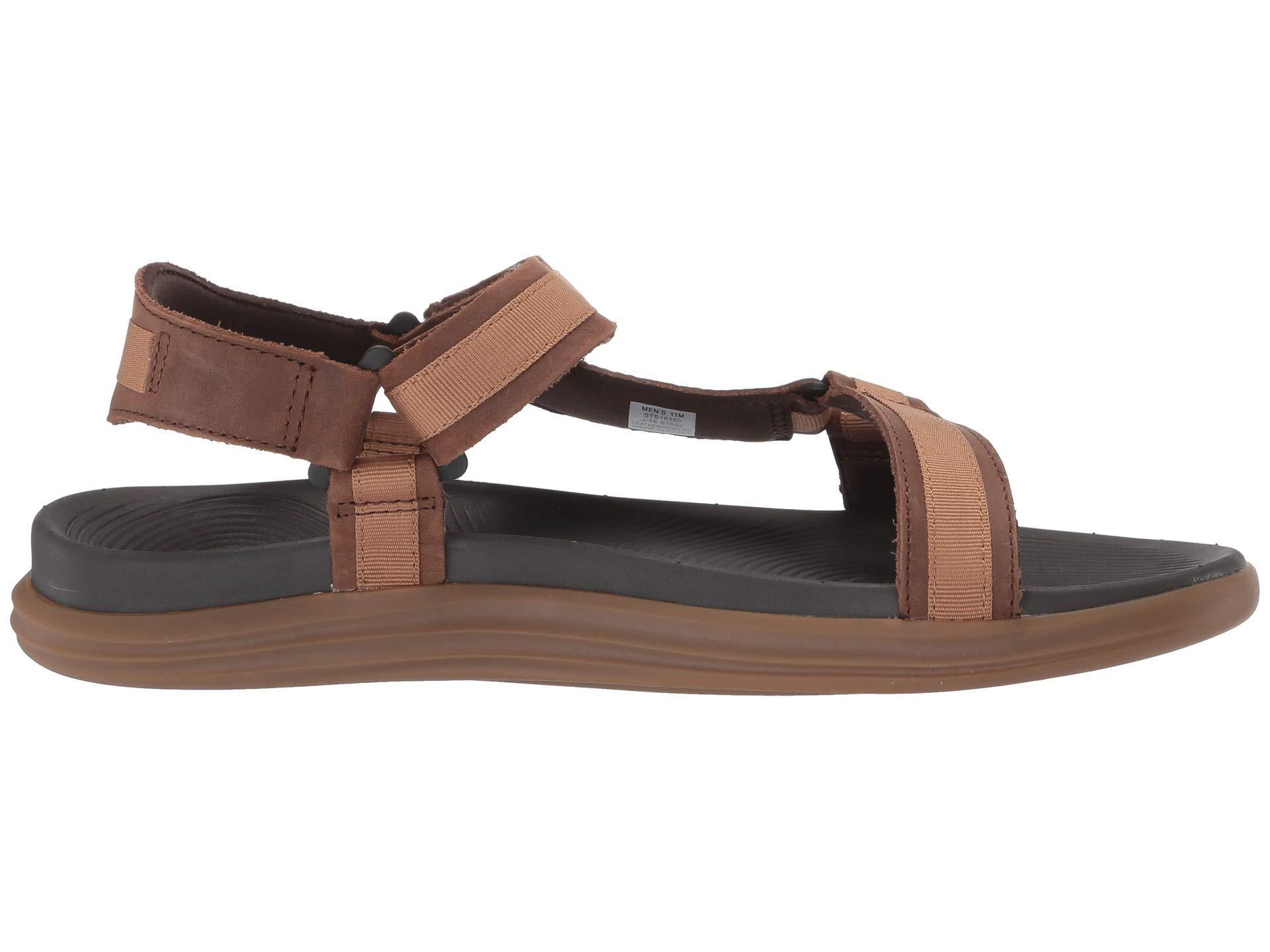 8843465db1f Lyst - Sperry Top-Sider Regatta 2-strap Sandal (brown tan) Men s Sandals in  Brown for Men