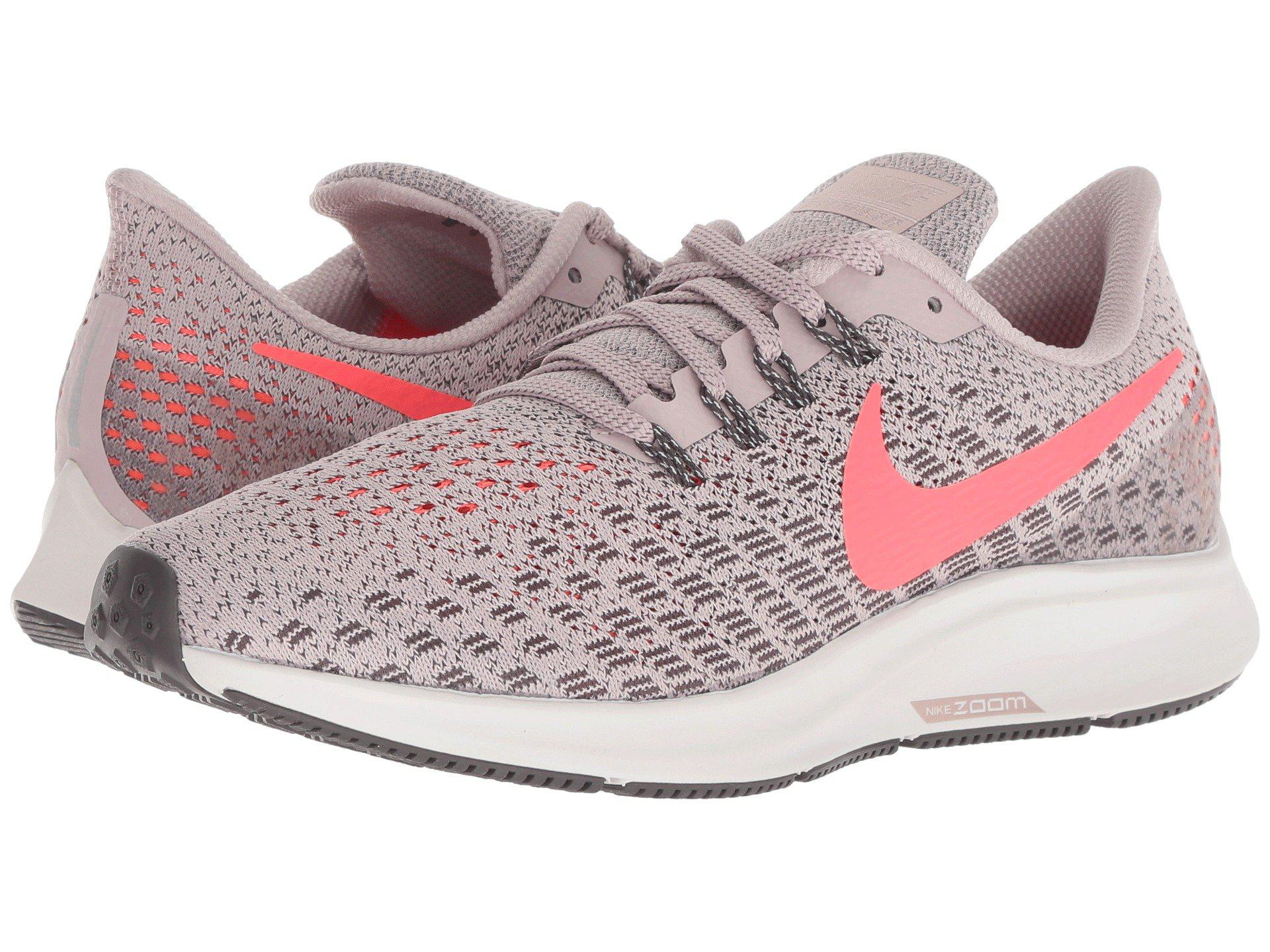 8142c39ff202 Lyst - Nike Air Zoom Pegasus 35 (black oil Grey white) Women s ...