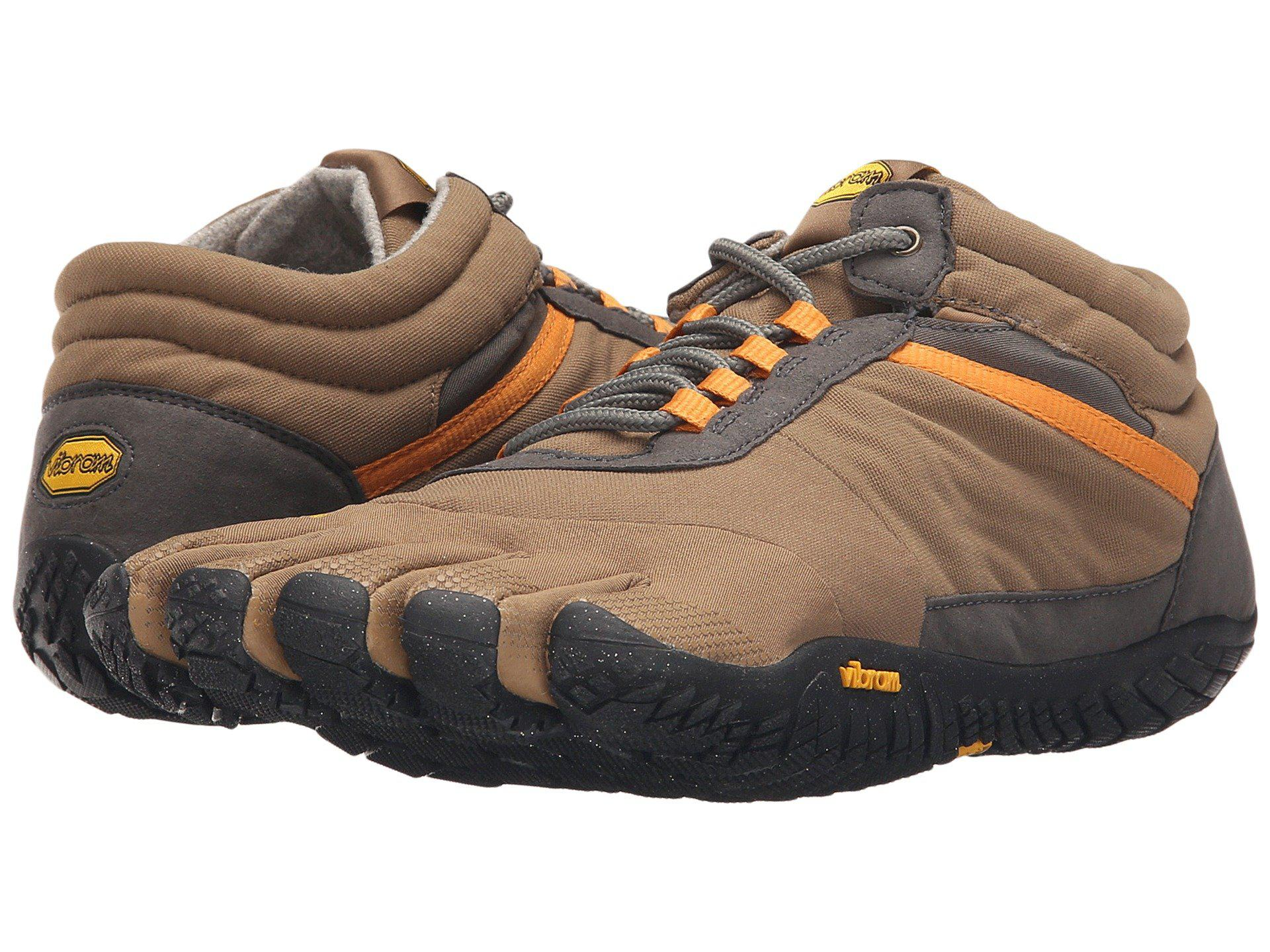 outlet store cbfe5 1e3e7 Vibram Fivefingers. Gray Trek Ascent (insulated Black) Men s Shoes.  130  From Zappos. Free shipping ...