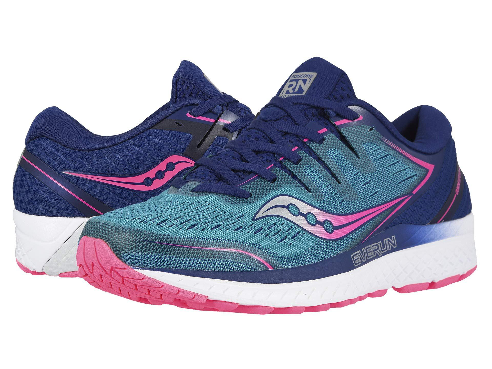 7c36285633 Saucony - Guide Iso 2 (blue Shade) Women's Shoes - Lyst. View fullscreen