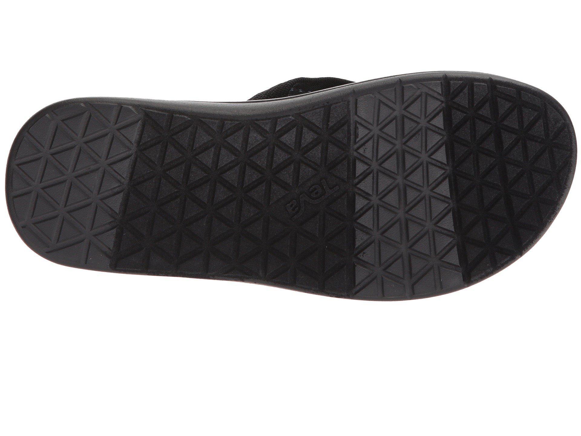 c07d63e82664 Teva - Voya Flip (zook Black) Men s Sandals for Men - Lyst. View fullscreen