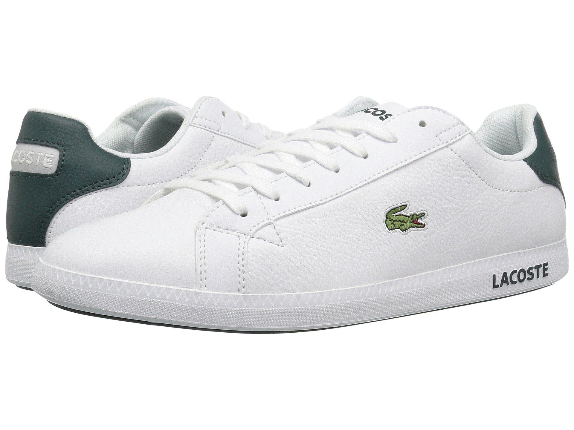 14ea5b6ca82 Lacoste - Graduate Lcr3 118 1 (white dark Green) Men s Shoes for Men. View  fullscreen