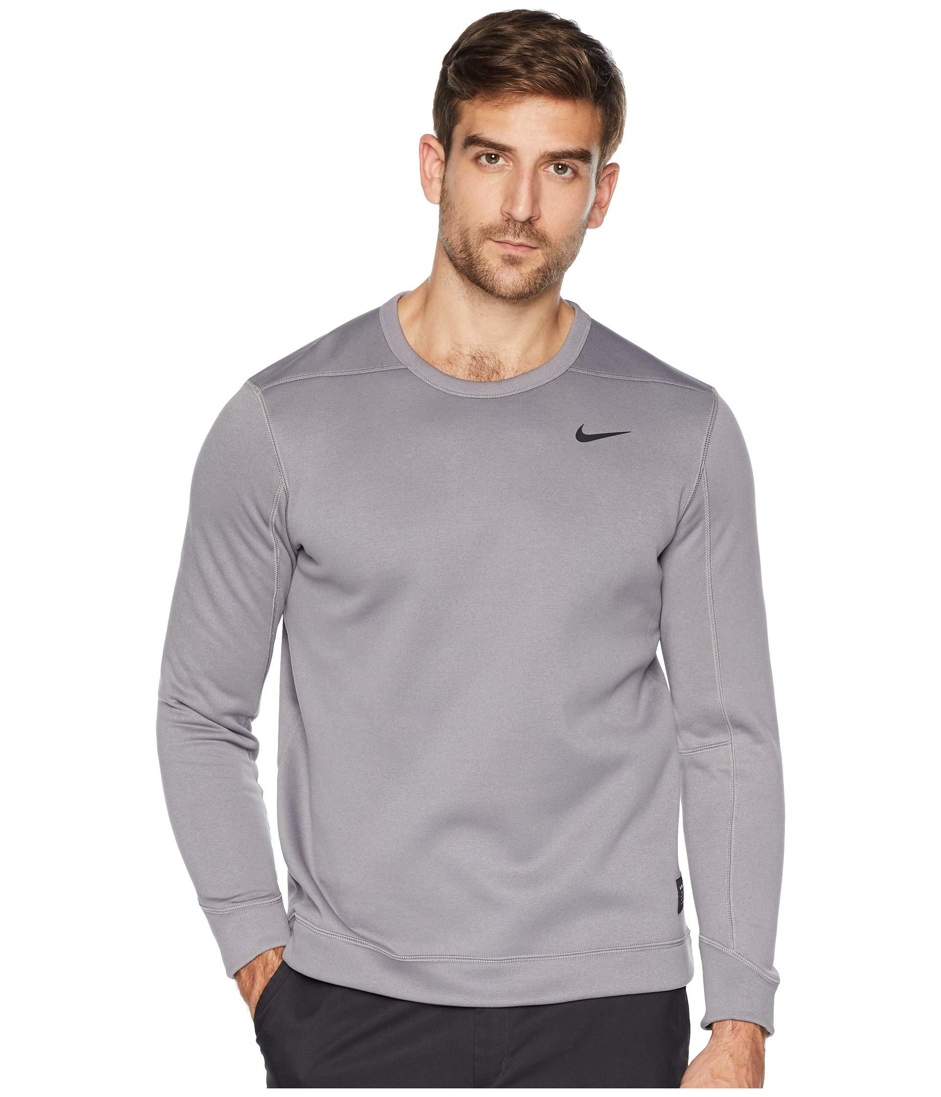 Lyst - Nike Therma Repel Top Crew (blue Void blue Void) Men s ... 21793fe34