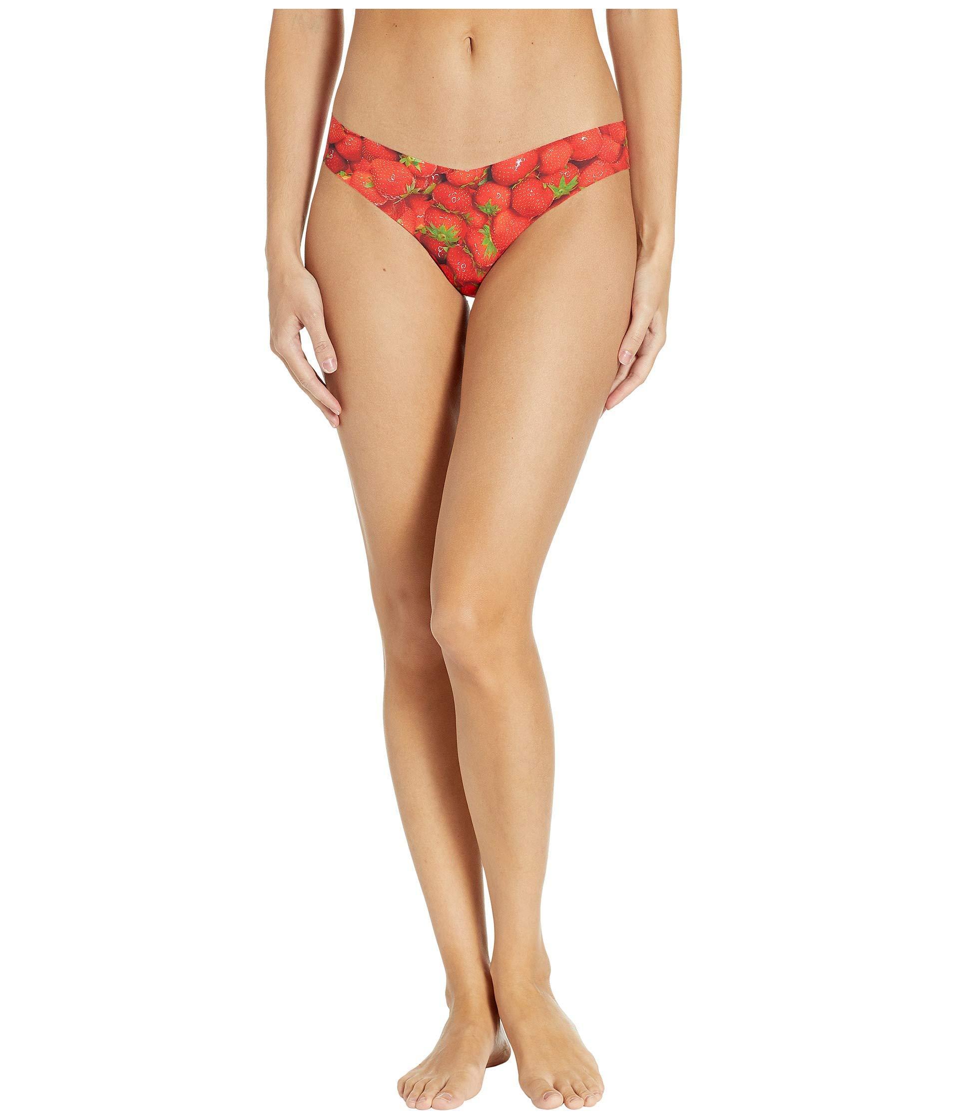 11aeaa34ba5dc Lyst - Commando Print Thong Ct18 (venus) Women's Underwear in Pink