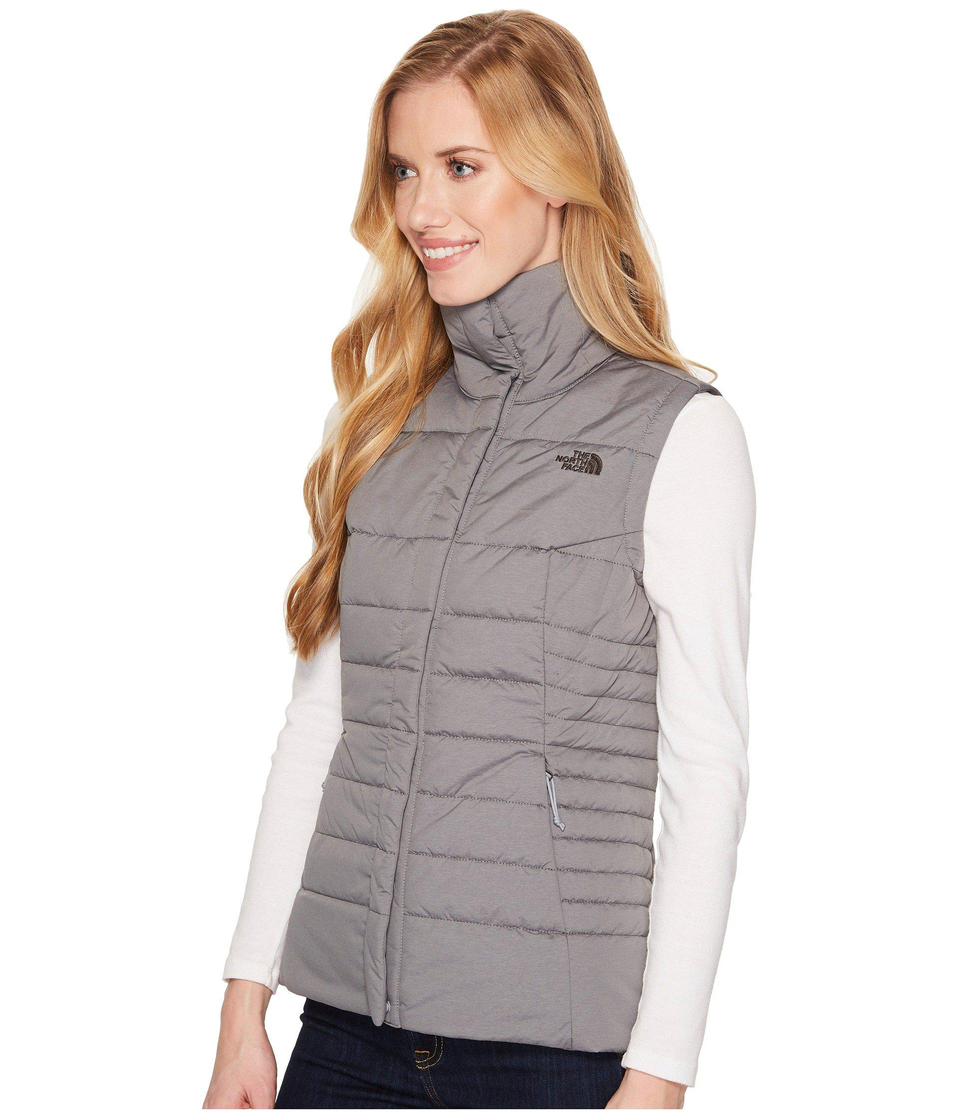 3f2bc3a8bf Lyst - The North Face Harway Vest (tnf Black) Women s Vest in Gray