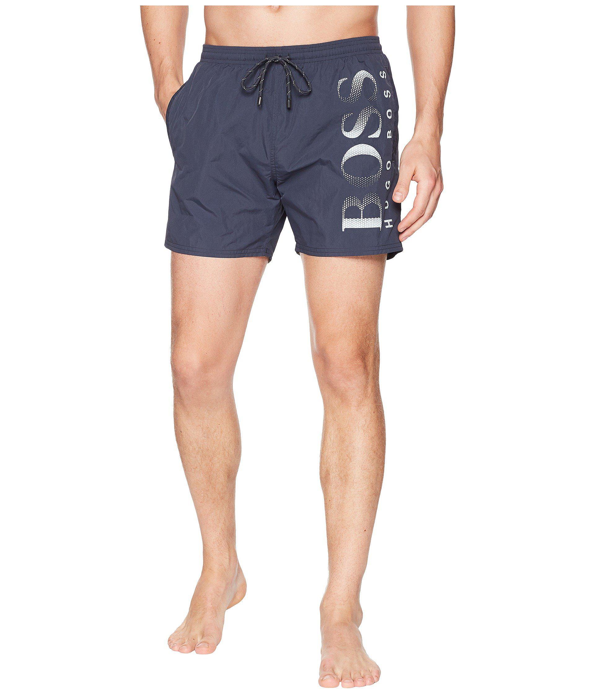 a989cc9650 Lyst - BOSS Octopus (light Past/red) Men's Swimwear in Gray for Men