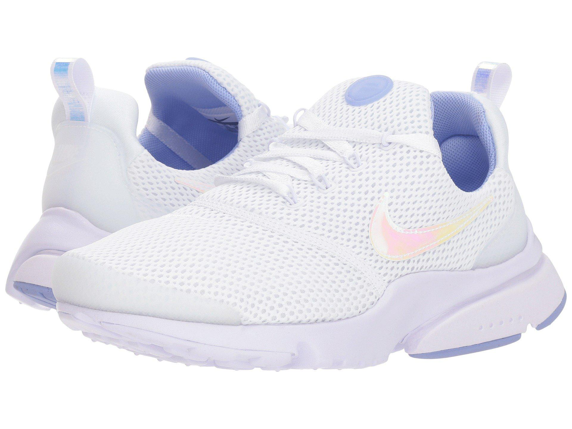 sneakers for cheap d22e1 7e0f1 ... air max 90 a8ad0 caa0d low cost lyst nike presto fly white barely grape  twilight pulse womens 10e9c 74278 ...