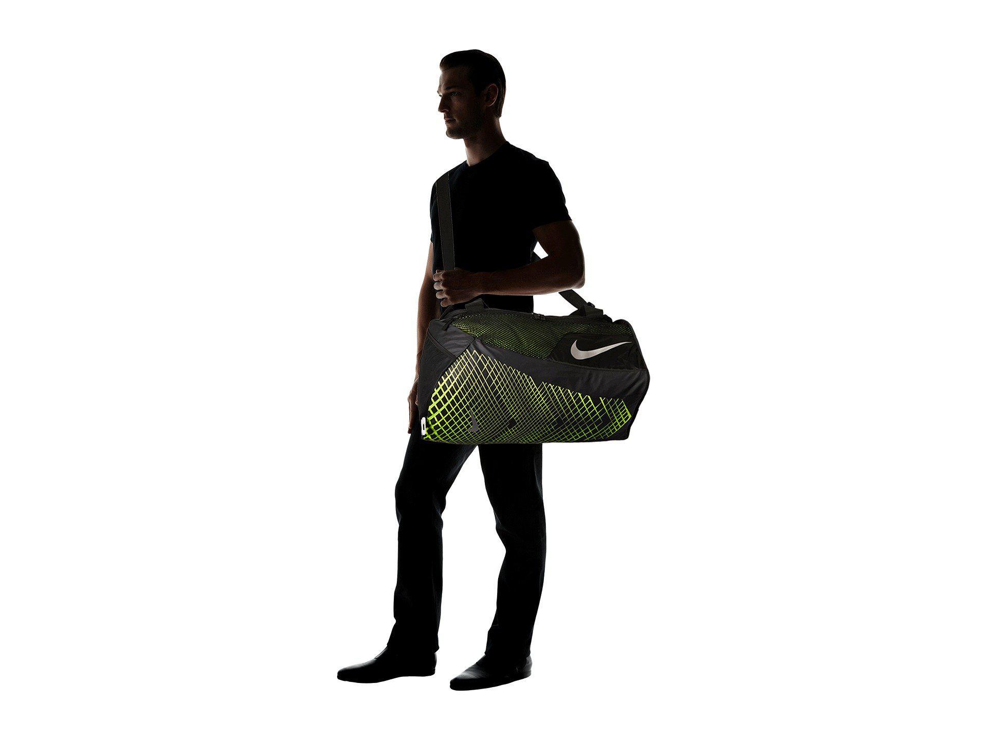 b977bf3a8b29 Nike - Multicolor Vapor Max Air Training Medium Duffel Bag  (black volt metallic. View fullscreen