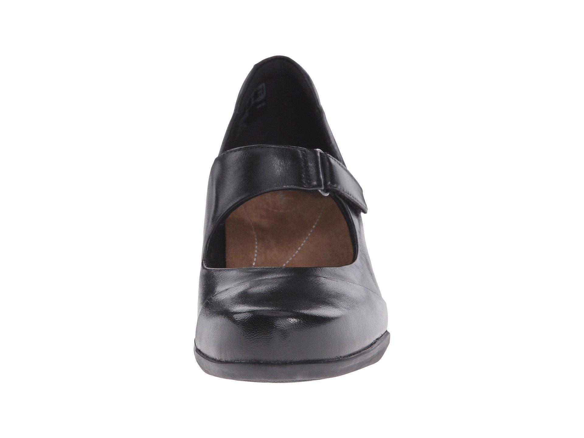 9fa887b61225 Lyst - Clarks Rosalyn Wren (black Leather) High Heels in Black - Save 1%