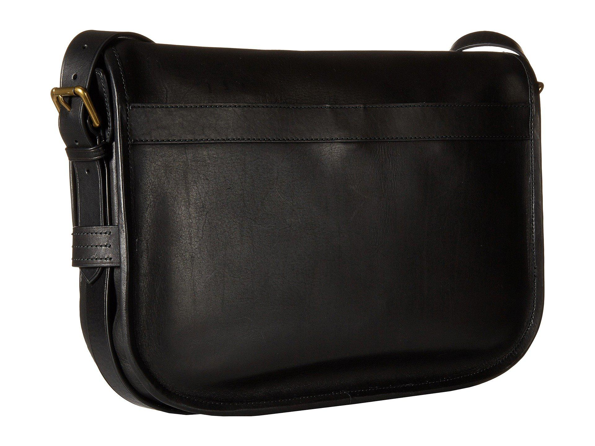 Polo Ralph Lauren - Core Leather Messenger (black) Messenger Bags for Men -  Lyst. View fullscreen 6da4c3b310d1d