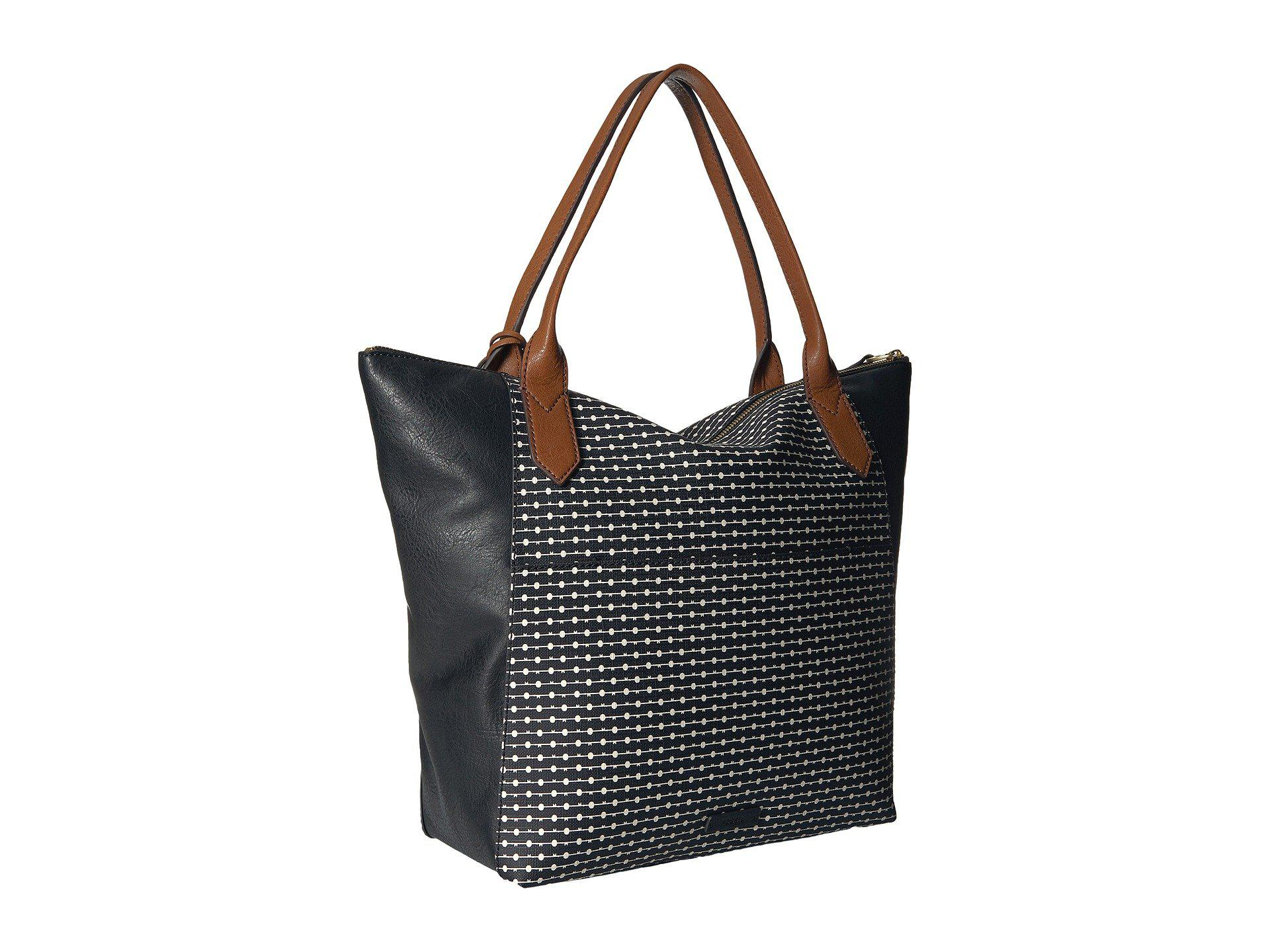 9fc3201d8 Fossil Fiona Tote in Black - Lyst