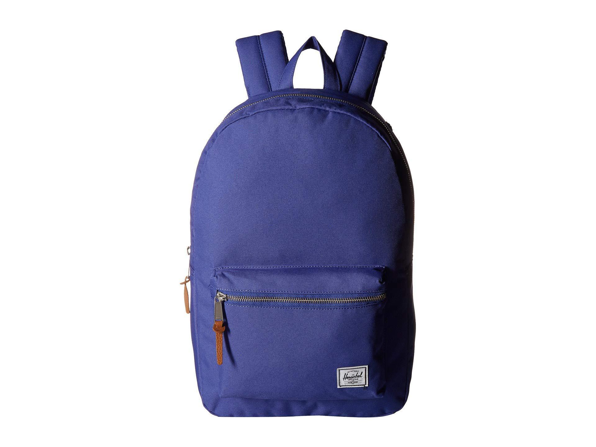 Herschel Supply Co. Blue Settlement (dark Chambray Crosshatch) Backpack Bags 23d0c5f9d0495