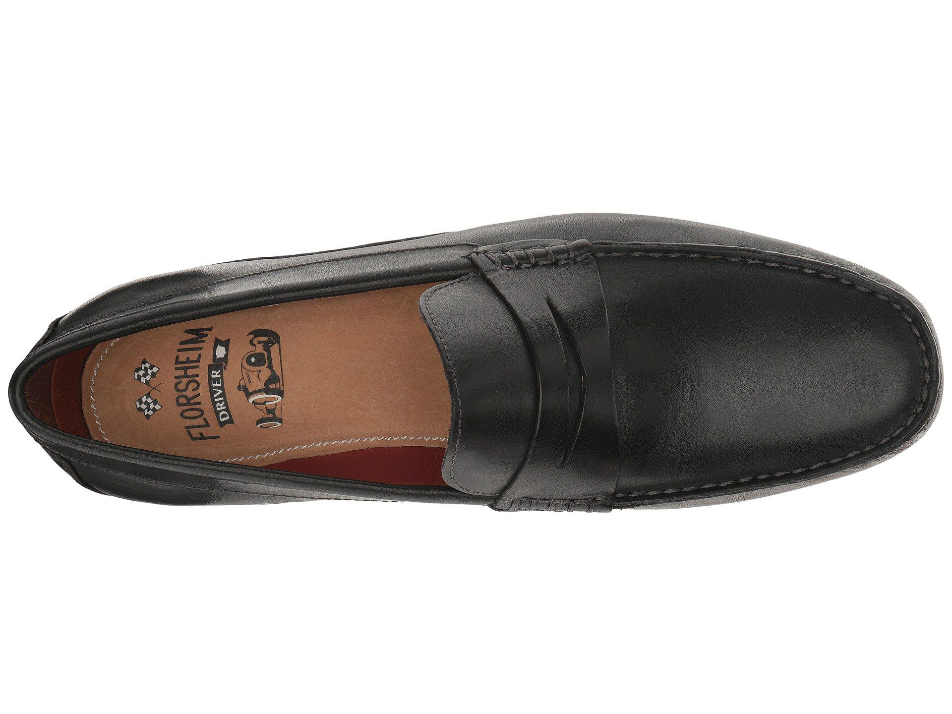 44197b65447 Florsheim - Black Oval Penny Driver (mushroom Suede brown Suede) Men s Slip  On. View fullscreen