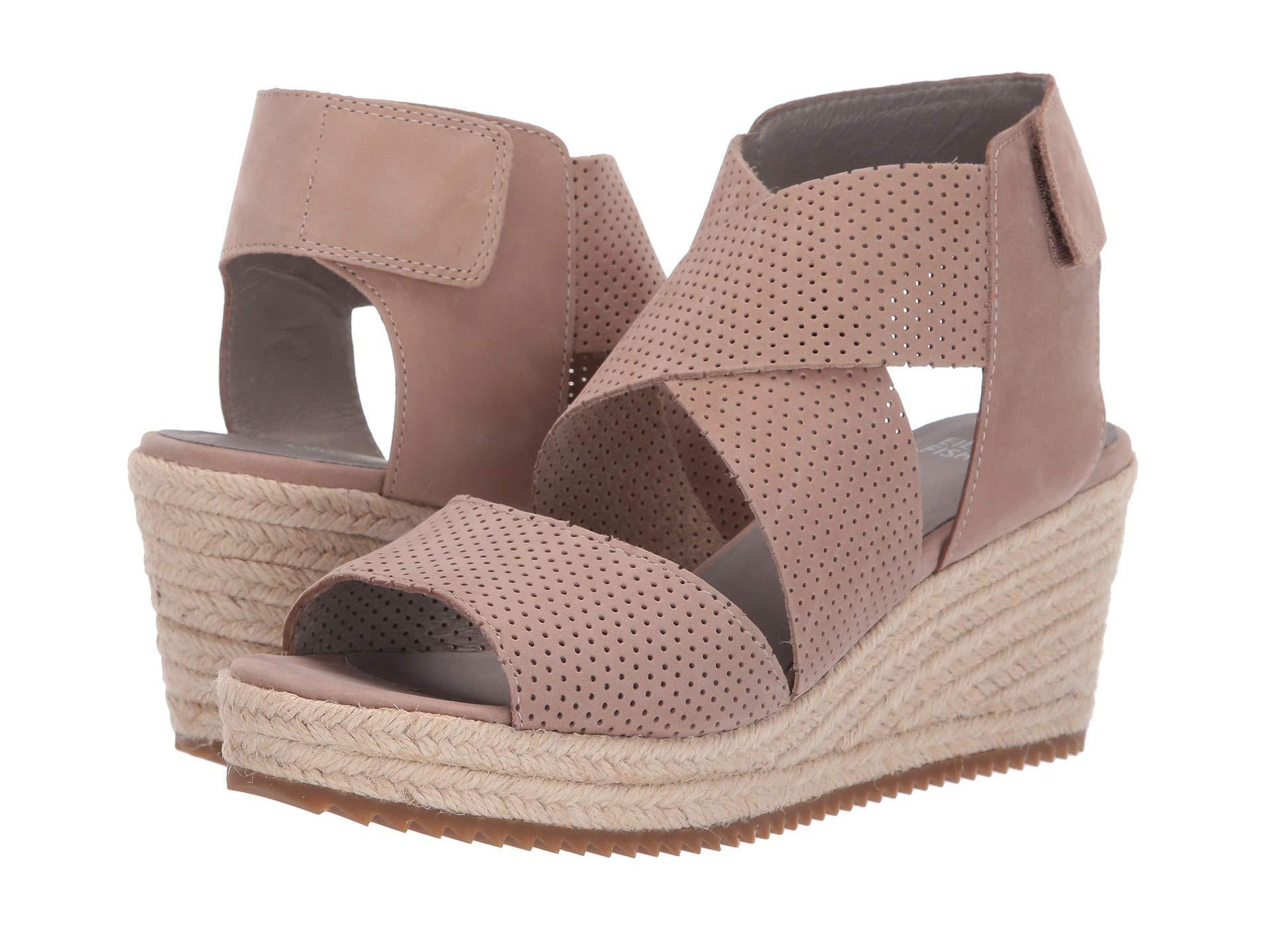 38e2e35add3 Lyst - Eileen Fisher Willow 2 (earth Nubuck) Women s Wedge Shoes