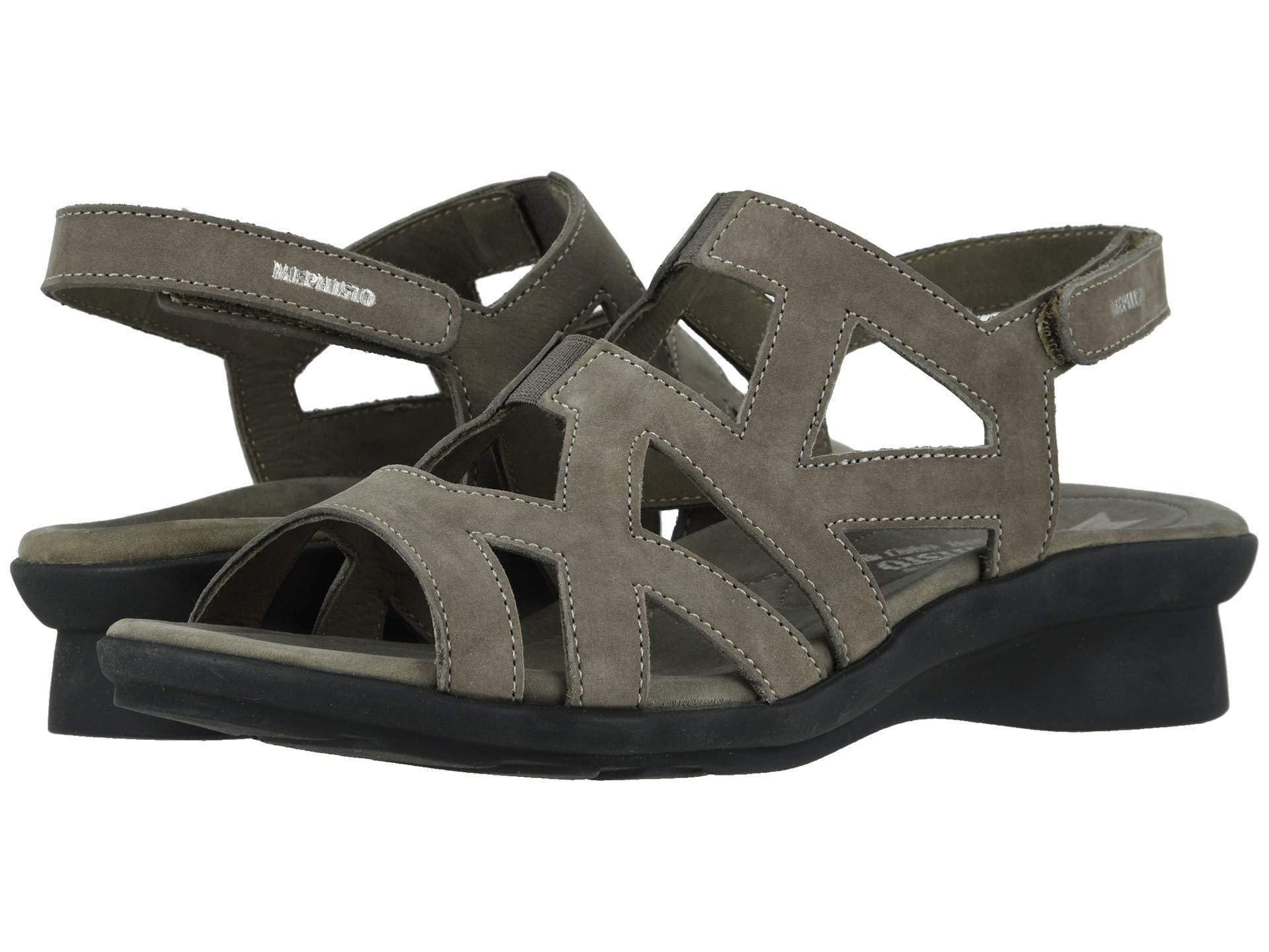 1d62e9f59dd Lyst - Mephisto Pamela (navy Bucksoft) Women's Shoes in Black