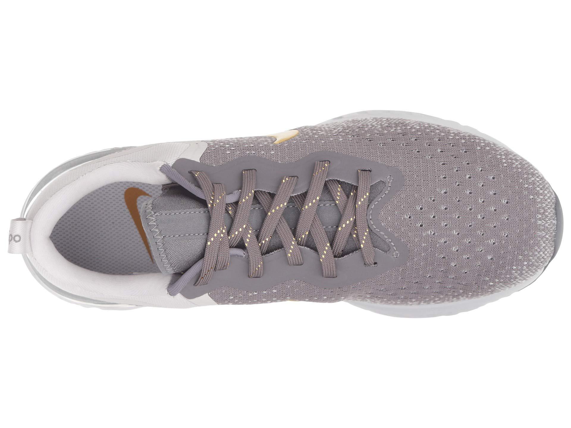 watch 6324c 97ae8 Lyst - Nike Odyssey React Premium (gunsmoke metallic Gold vast Grey ...