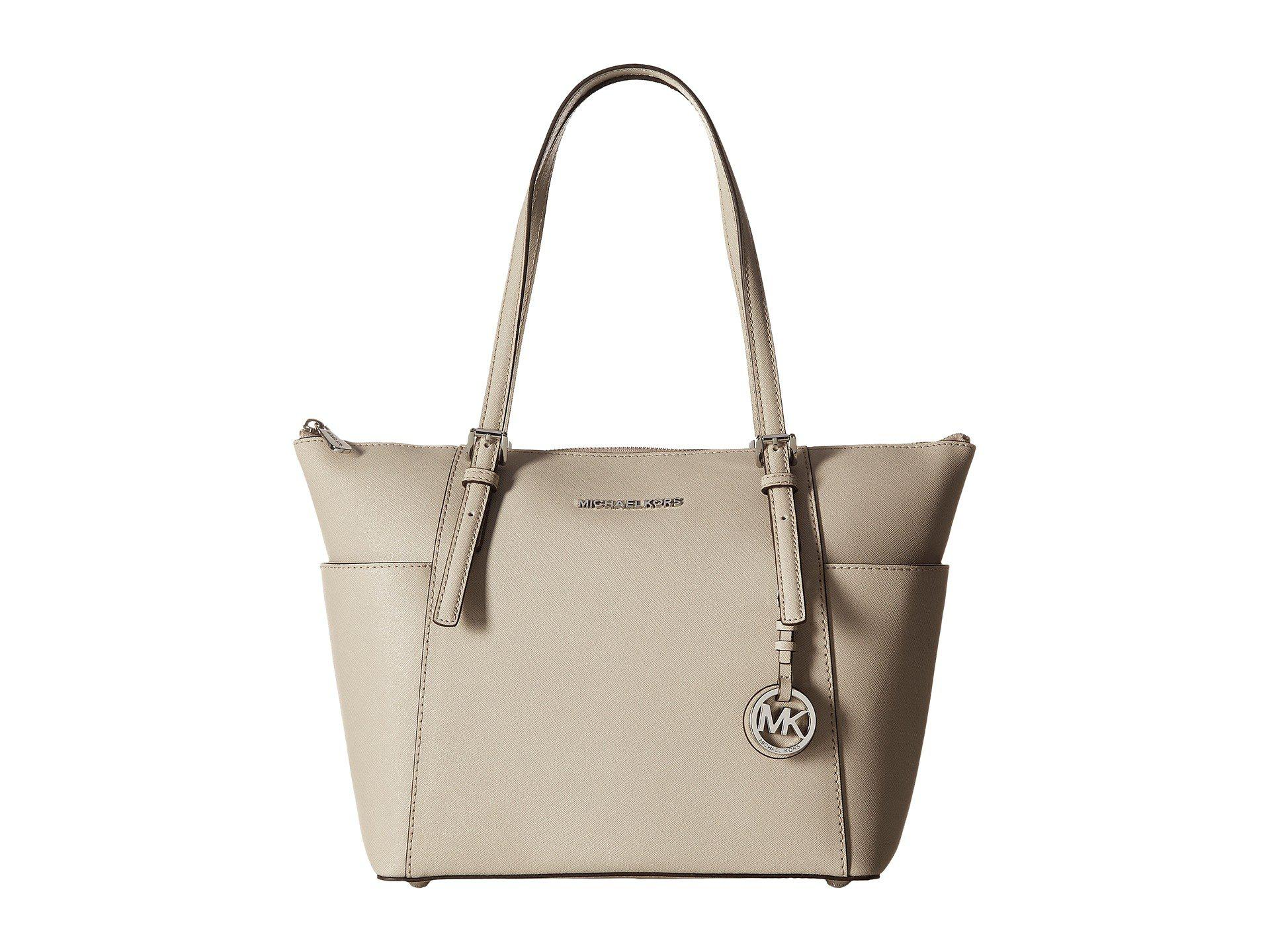 20442ac666 Lyst - MICHAEL Michael Kors Jet Set Item East West Top-zip Tote ...