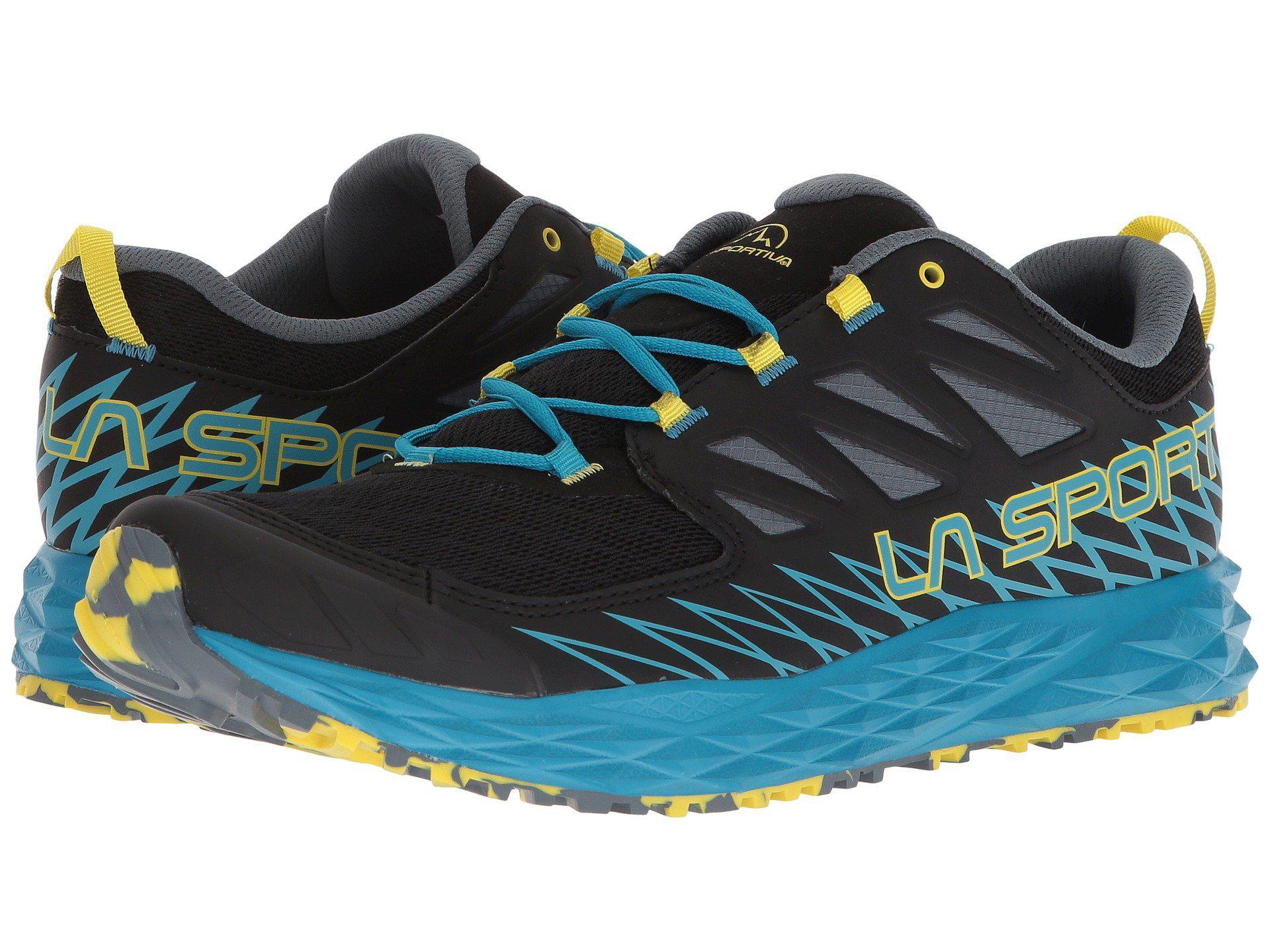 Lyst - La Sportiva Lycan (carbon apple Green) Men s Shoes in Blue ... ec00f5f7bd9