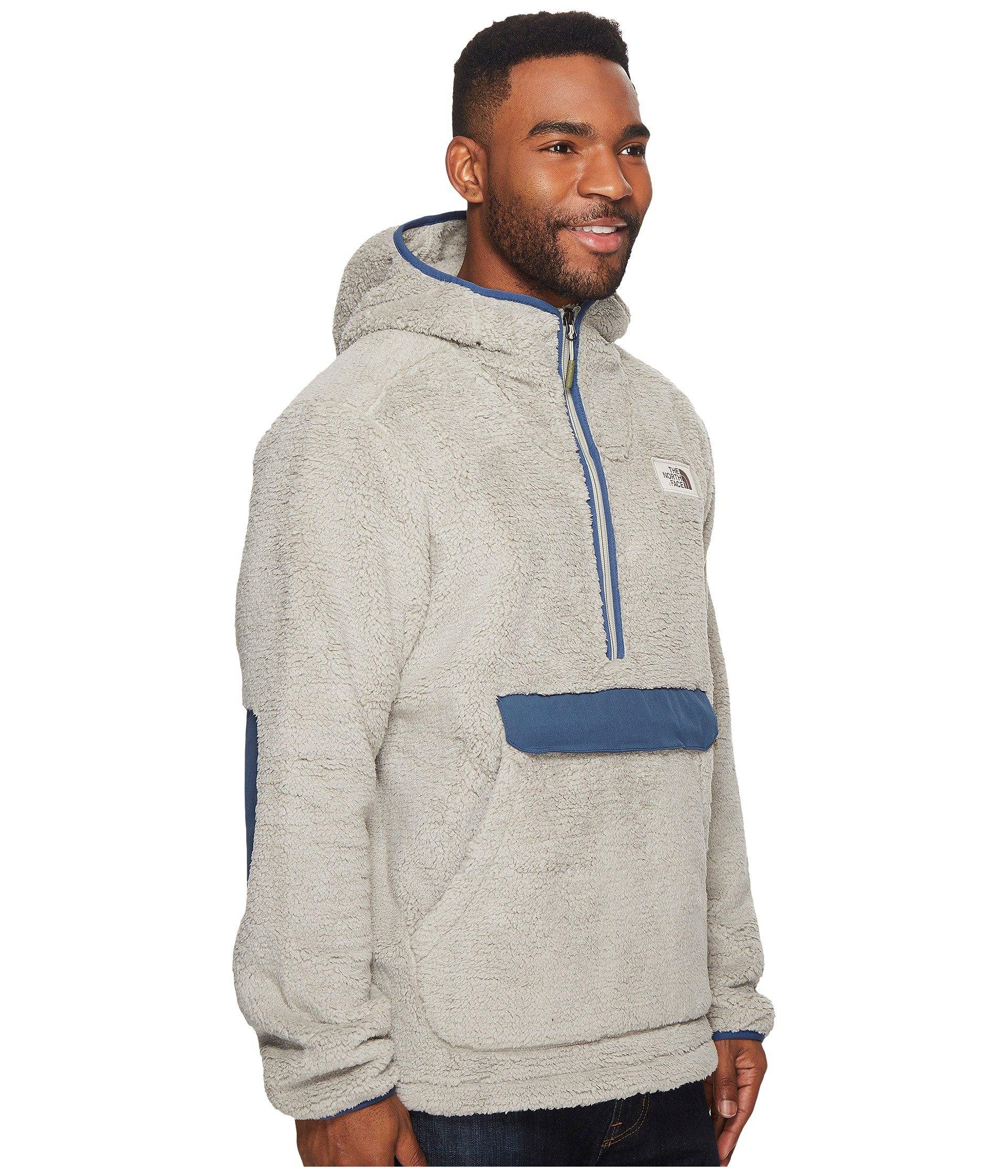 b3ce950adaaf Lyst - The North Face Campshire Pullover Hoodie in Gray for Men