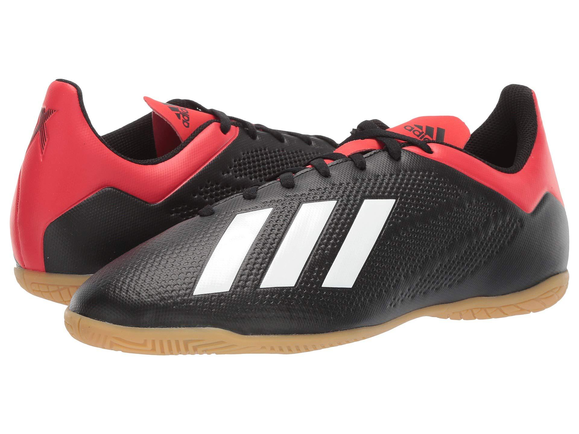 77d53d097 adidas X 18.4 In (core Black/off-white/active Red) Men's Soccer ...