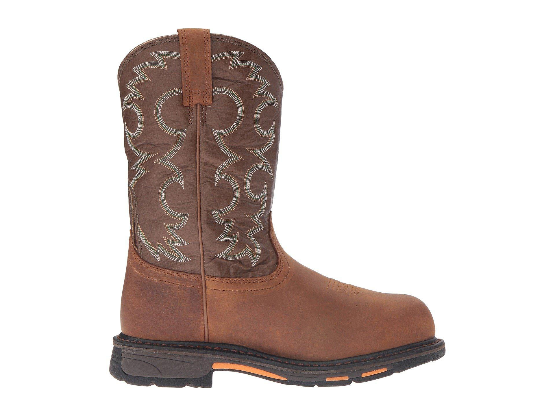 ba7c92961c5 Ariat Workhog Pull-on Ct Wp (aged Bark/army Green) Women's Work ...