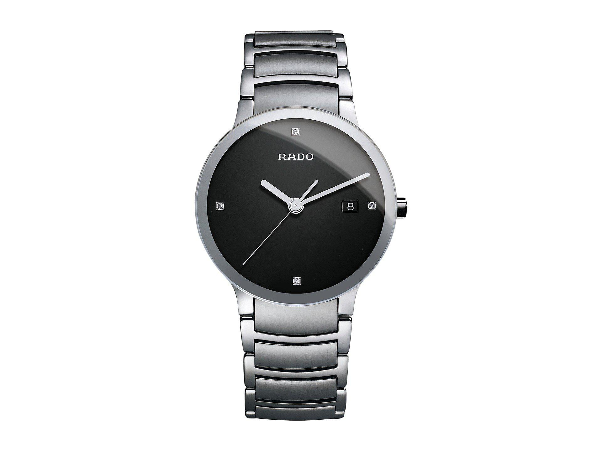 cd160e1f5 Lyst - Rado Centrix Diamond Bracelet Watch in Metallic for Men