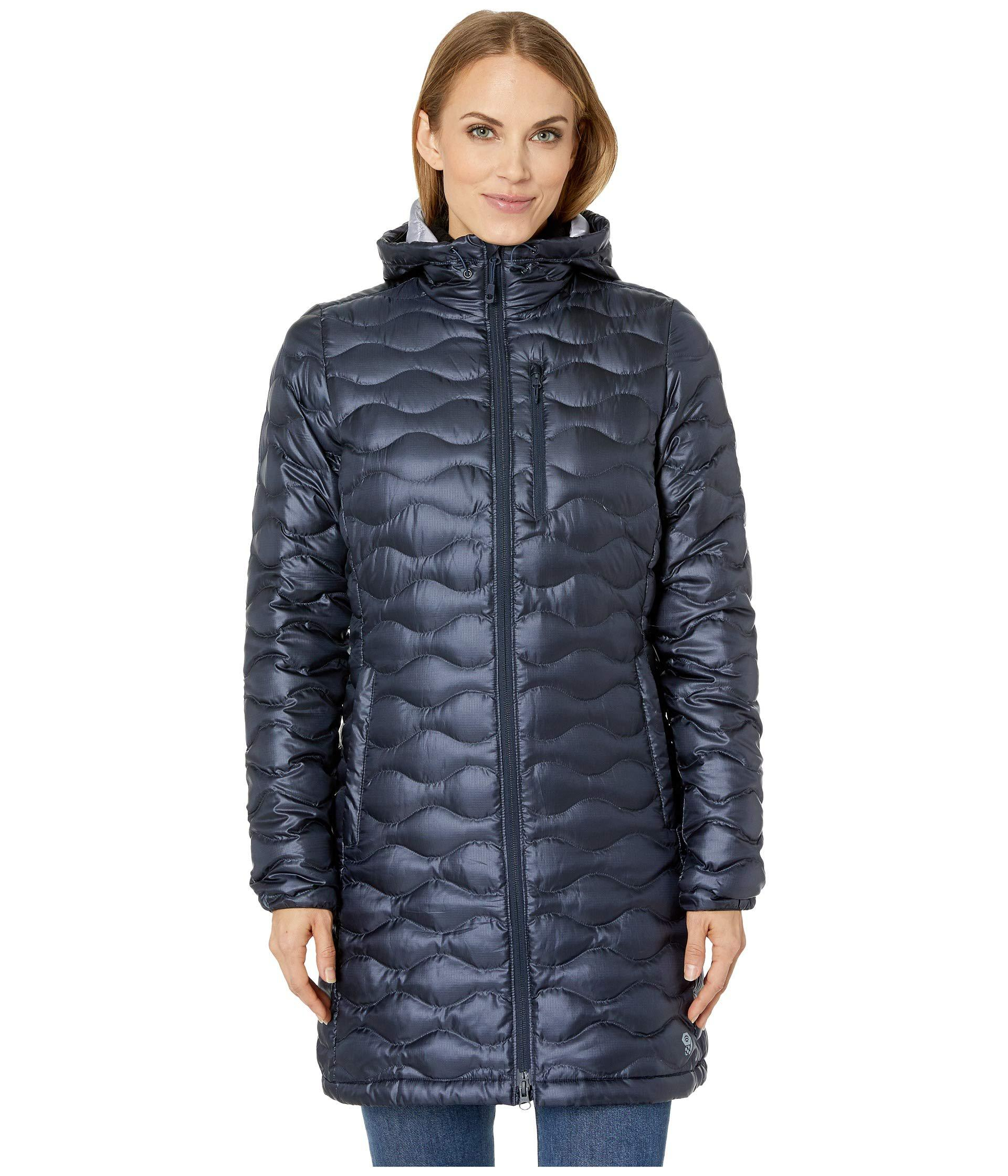 9de0e254dc Lyst - Mountain Hardwear Nitrous Hooded Down Parka (black) Women s ...