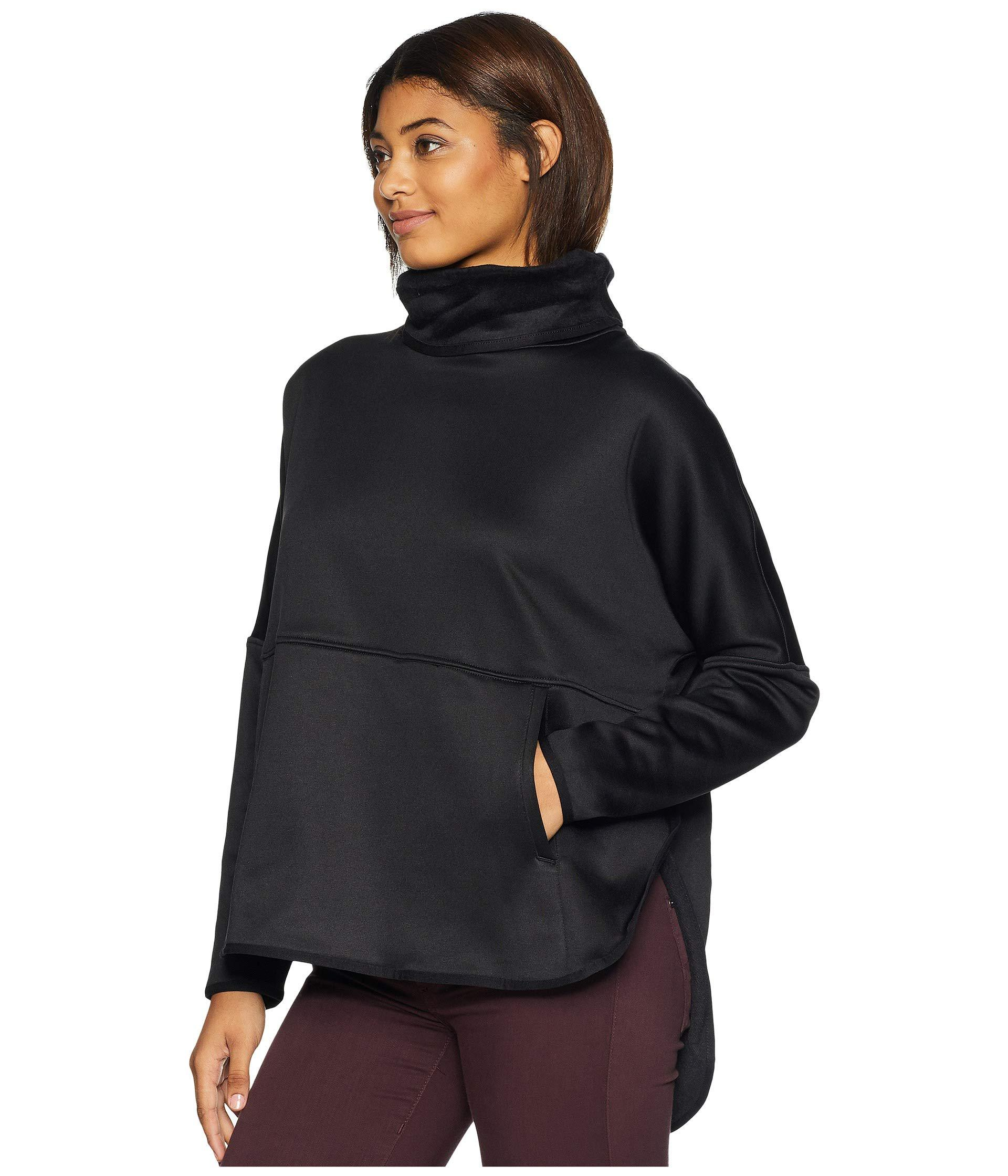 54501bee2d Lyst - The North Face Cozy Slacker Poncho (tnf Black) Women s Coat in Black