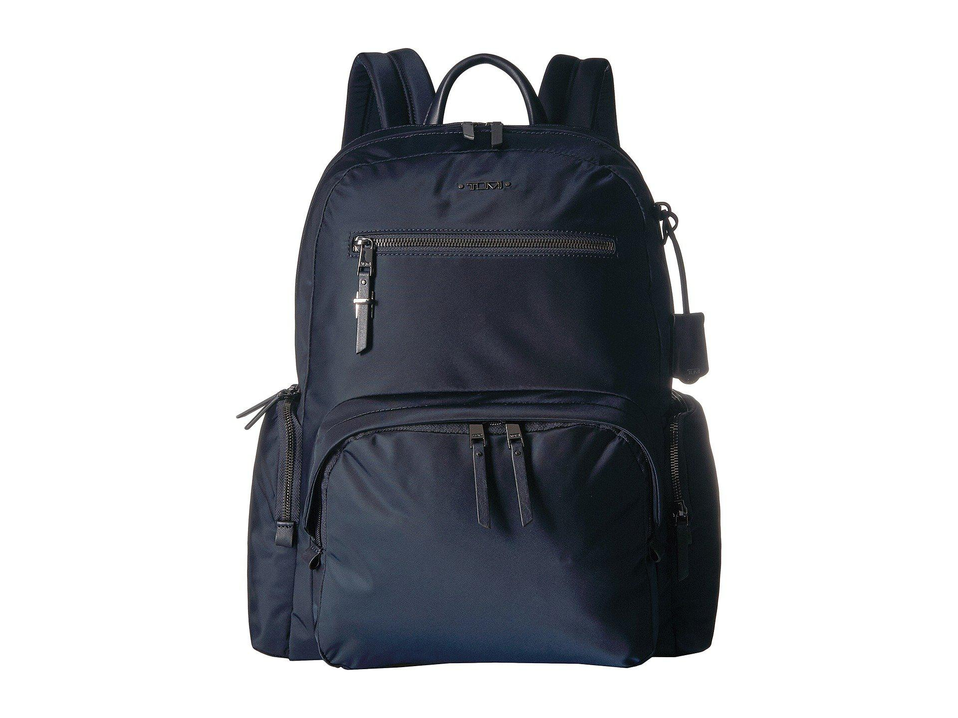 b1dd276c0 Tumi Voyageur Carson Backpack (black/silver) Backpack Bags in Blue ...