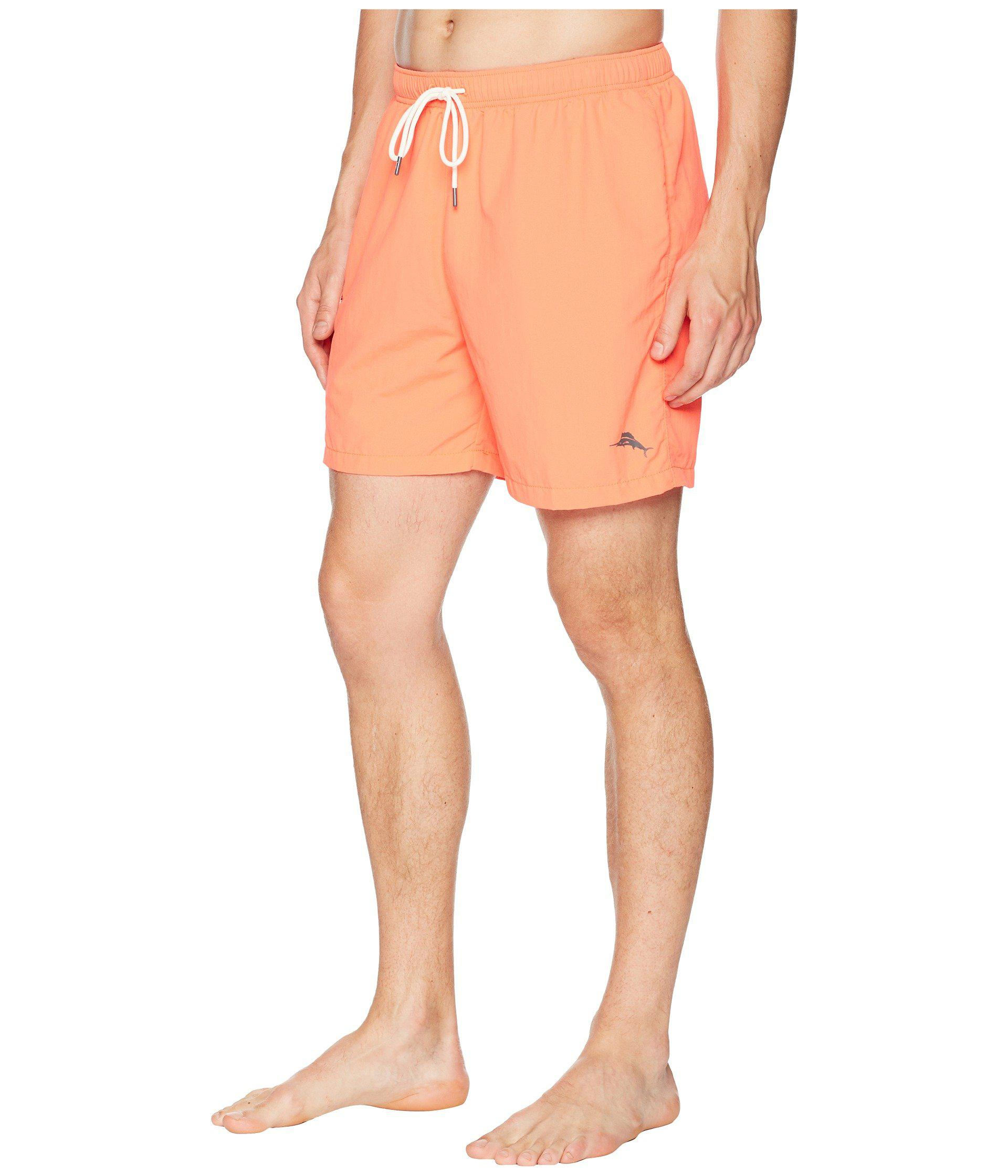 7b18e6d7ec Lyst - Tommy Bahama Naples Coast Swim Trunk (throne Blue) Men's Swimwear in  Orange for Men - Save 17%