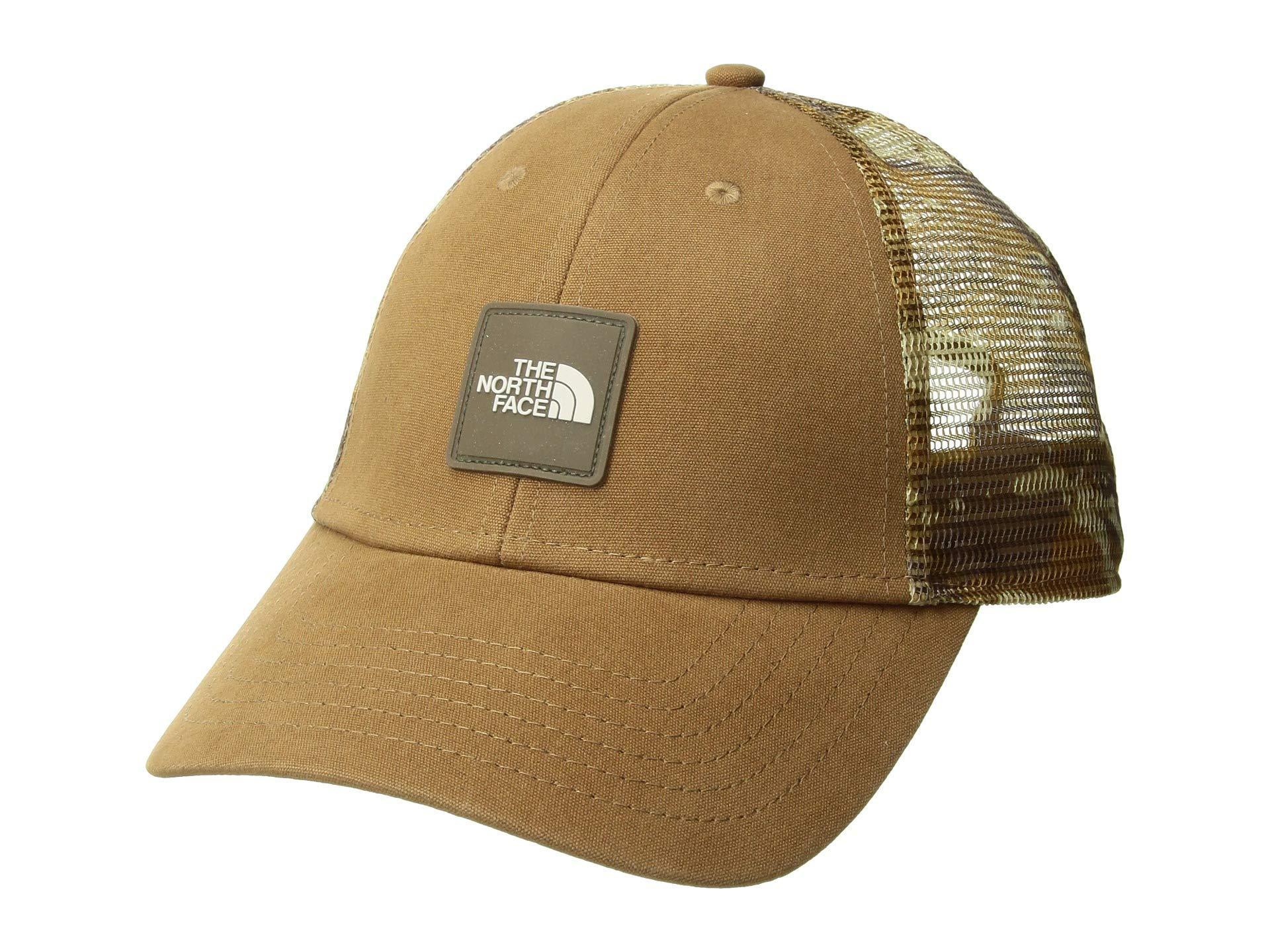 de26a9271f443 The North Face Mudder Novelty Mesh Trucker Hat (moab Khaki Woodchip ...