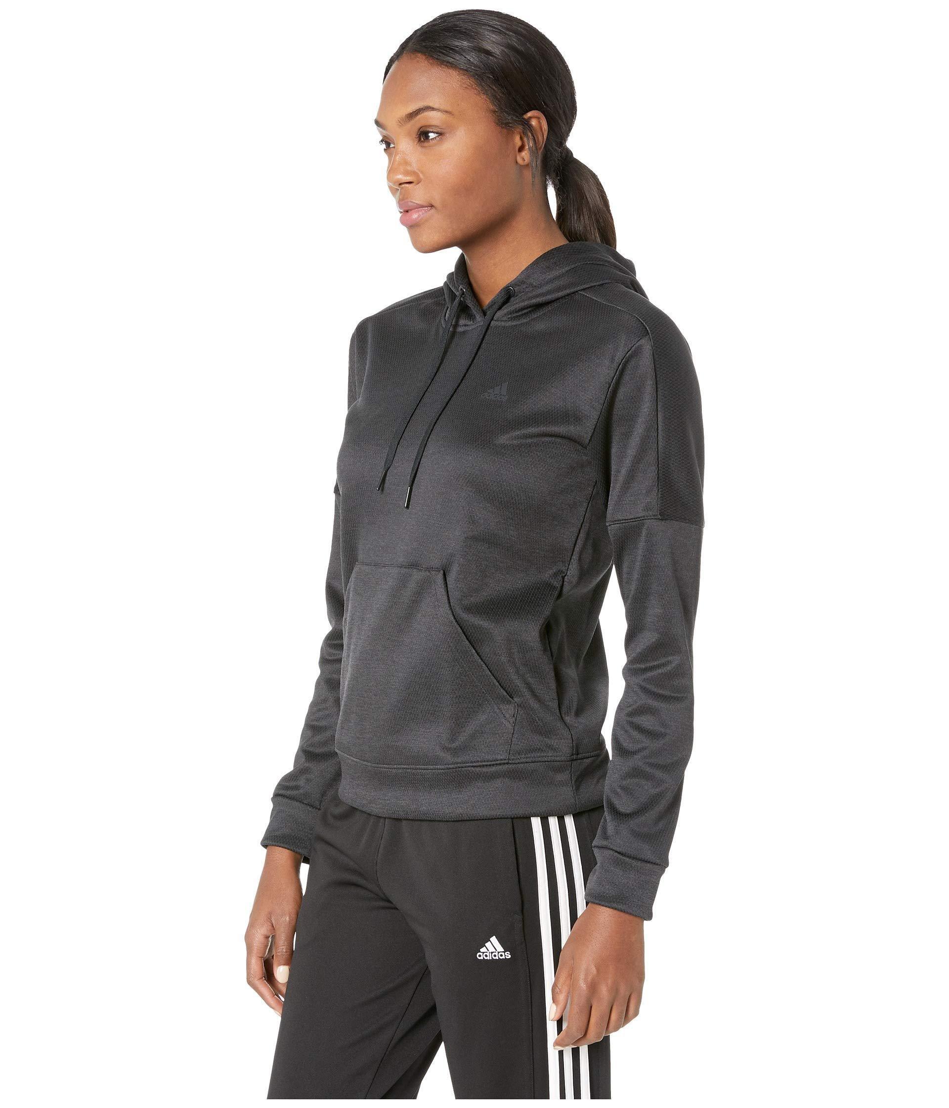 a5af99209da4 Lyst - adidas Team Issue Pullover Hoodie (black black carbon) Women s  Sweatshirt in Black