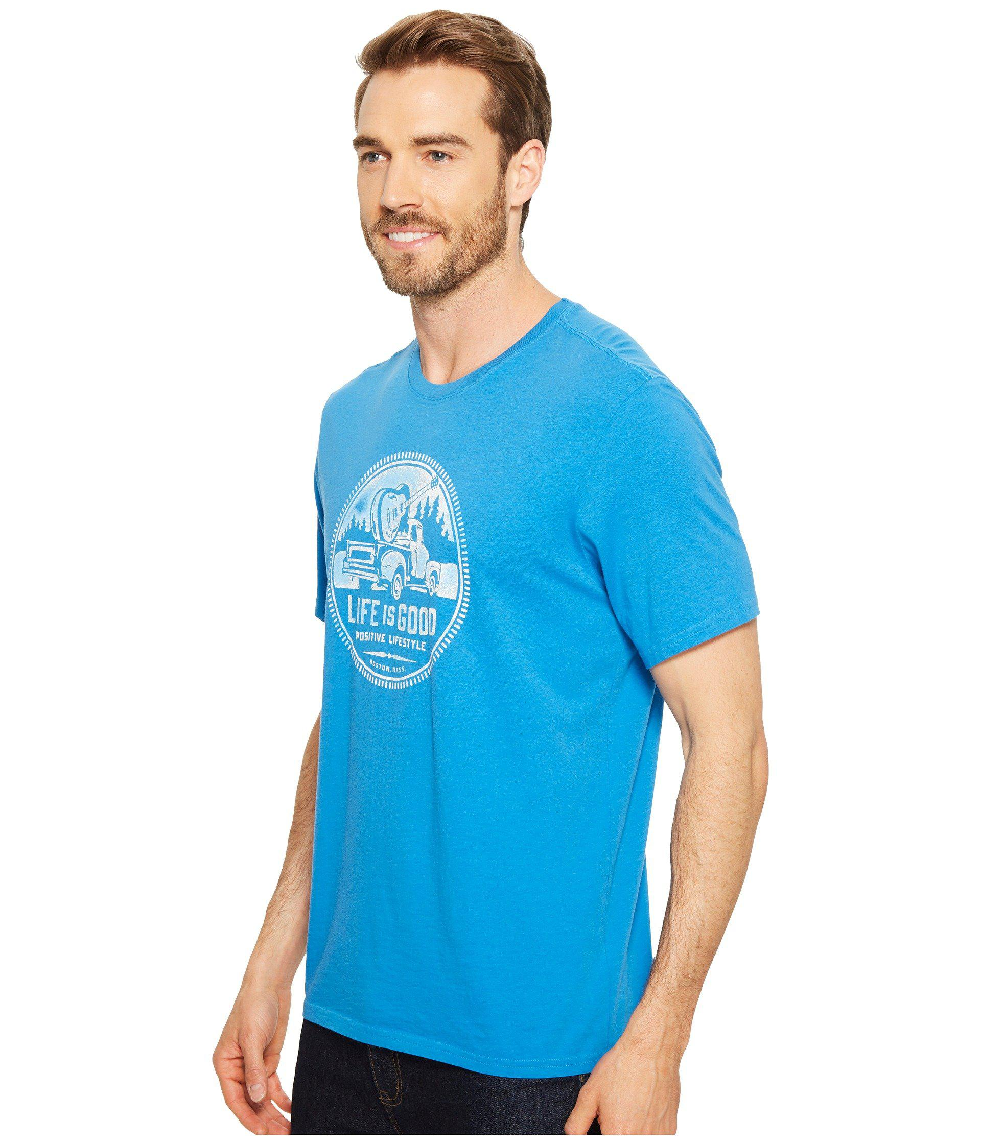 Life is Good Positive Lifestyle Truck Smooth Tee
