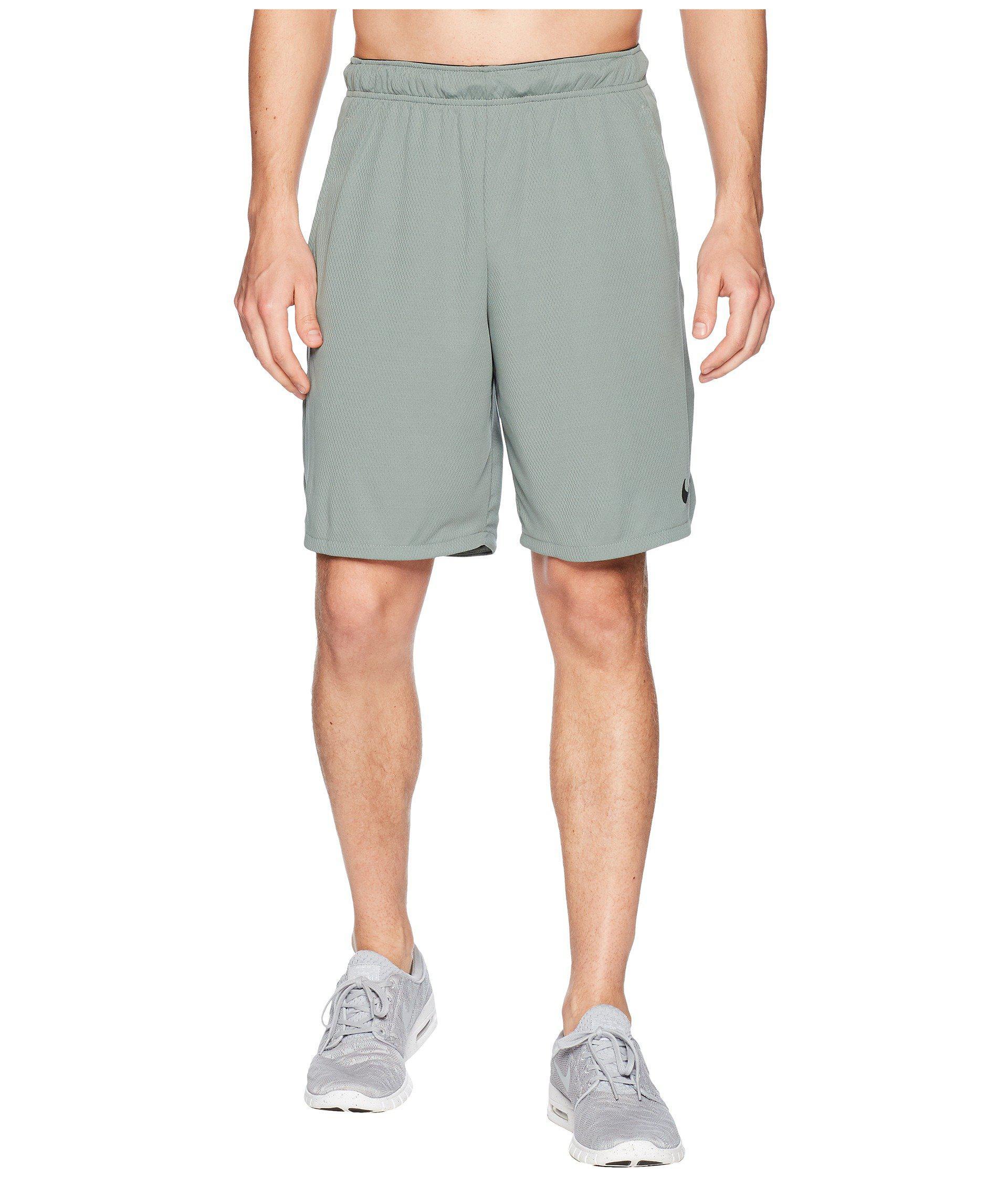 8a18538b Lyst - Nike Dri-fit 9 Training Short (black/dark Grey) Men's Shorts ...