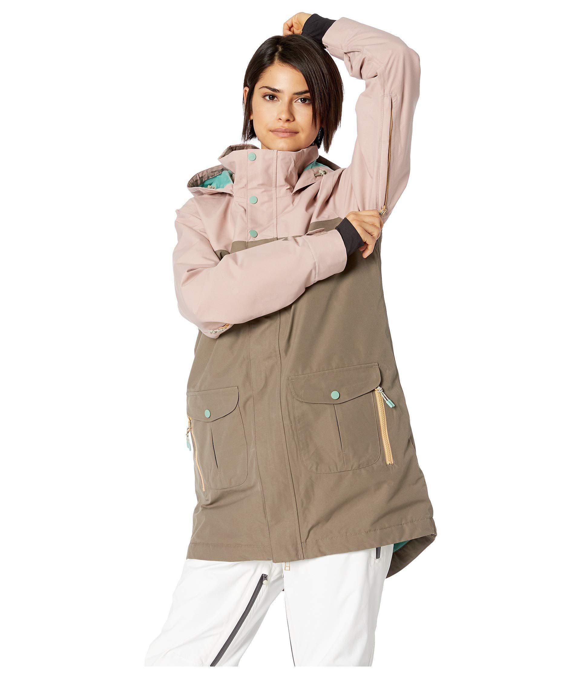 f8a6fcec187 Lyst - Burton Gore-tex Eyris Jacket (fawn falcon) Women s Coat
