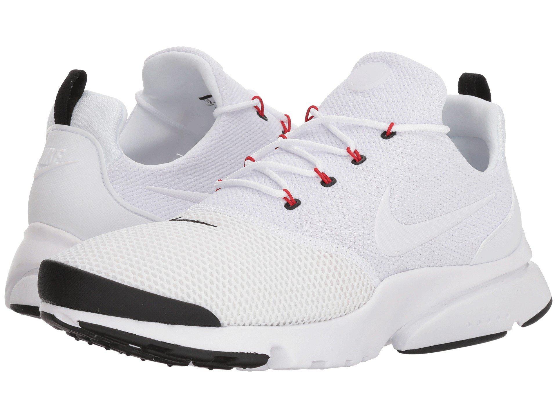 40a3f3079a97 whitewhiteblackuniversity Lyst Red Men s Nike Fly Presto qpw8wBt6